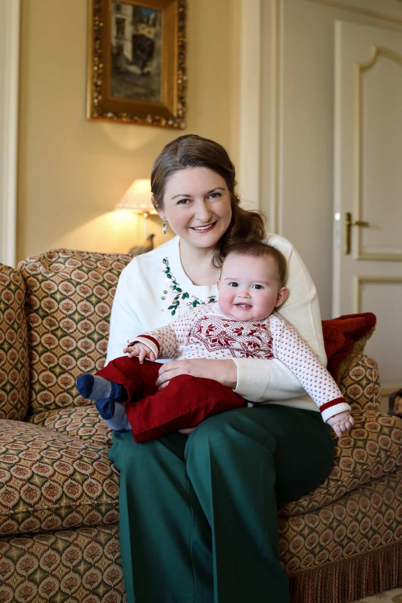 Stéphanie von Luxemburg: Söhnchen Charles stiehlt ihr die Show