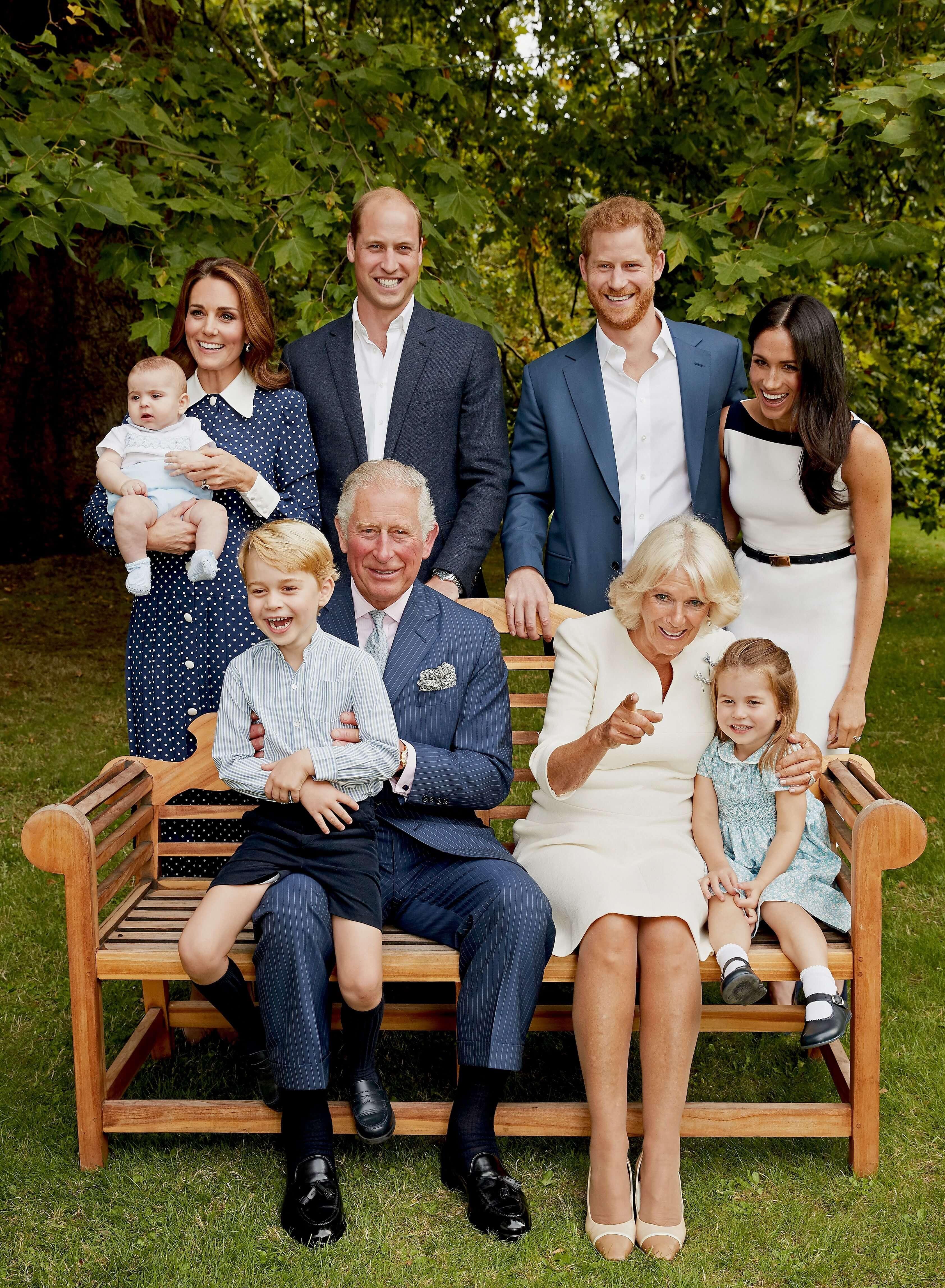 Prinz Charles und Familie