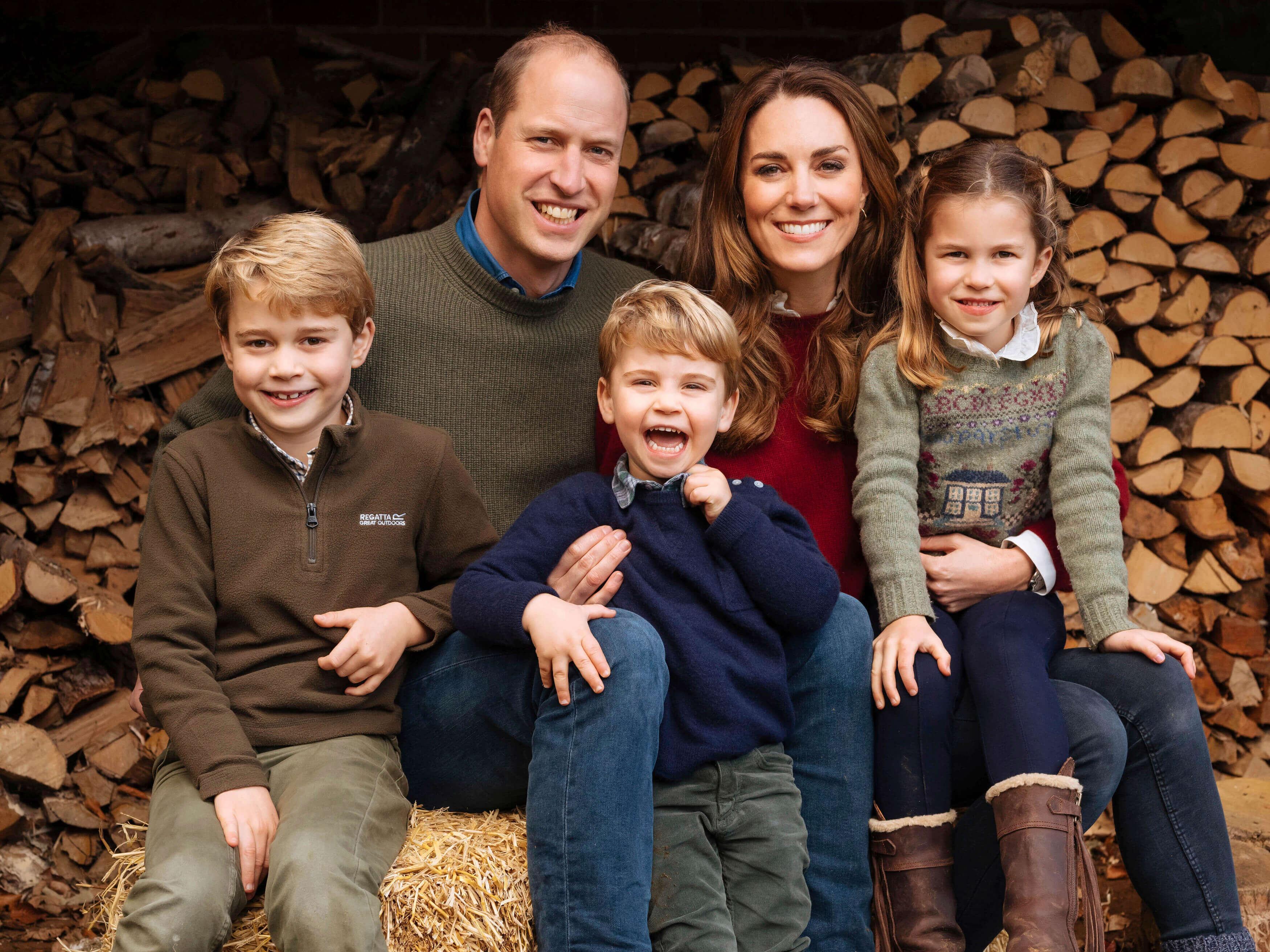 George, Charlotte & Louis erinnern an Muttertag an Prinzessin Diana