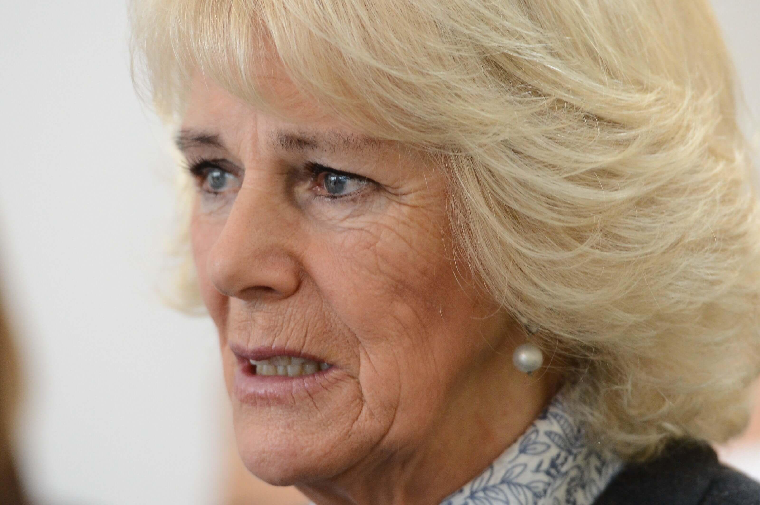 Herzogin Camilla traurig