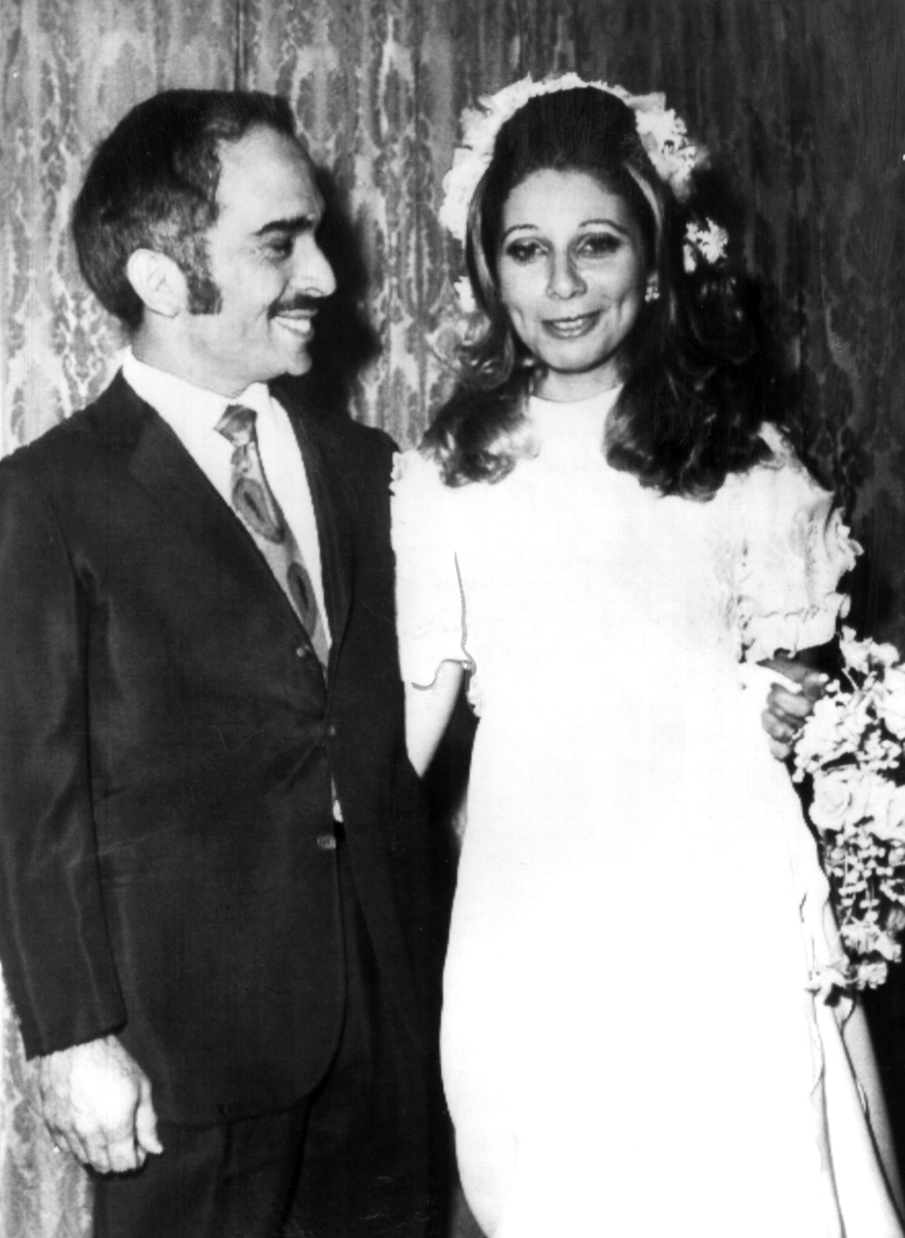 König Hussein und Königin Alia