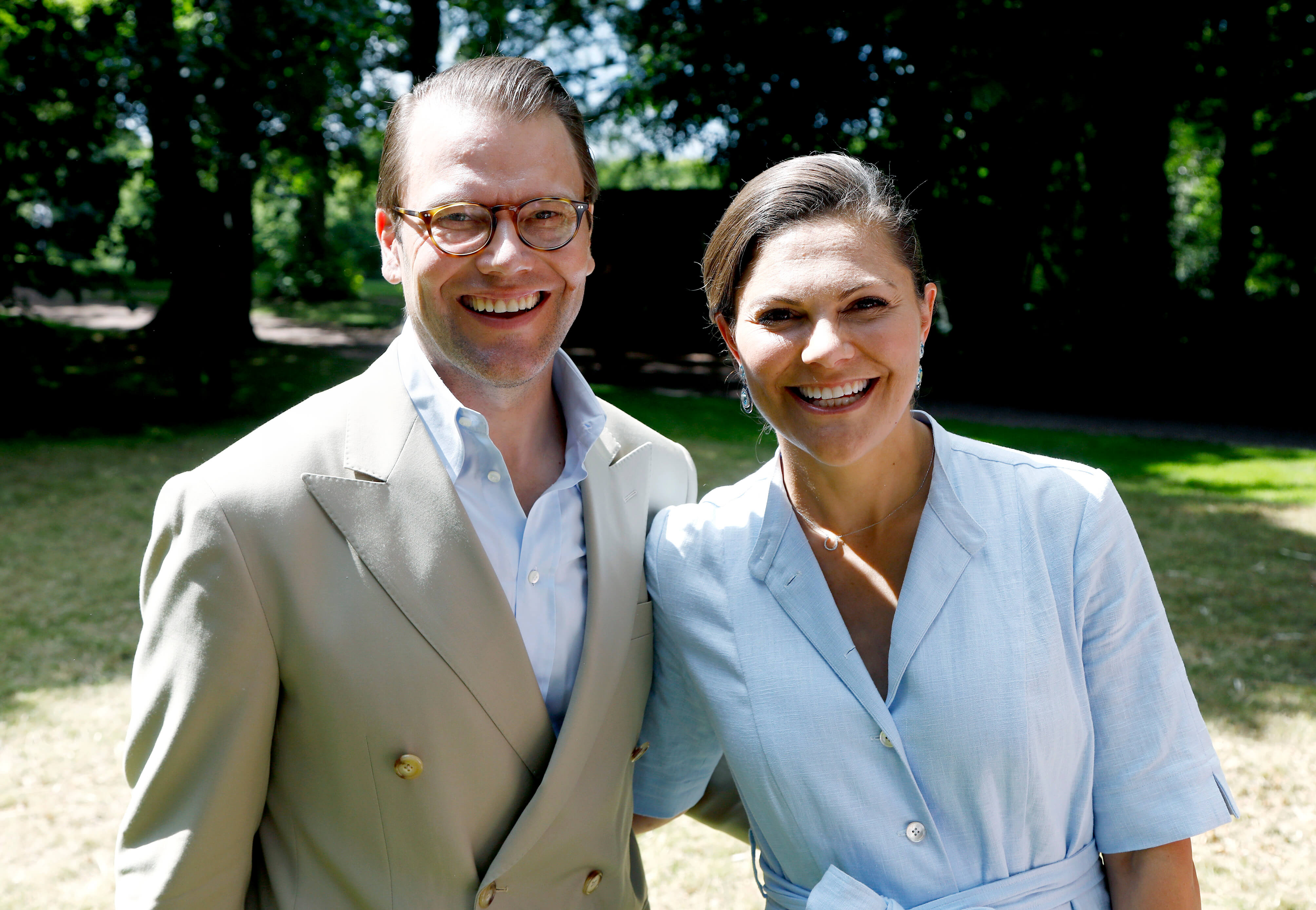 Prinz Daniel und Kronprinzessin Victoria