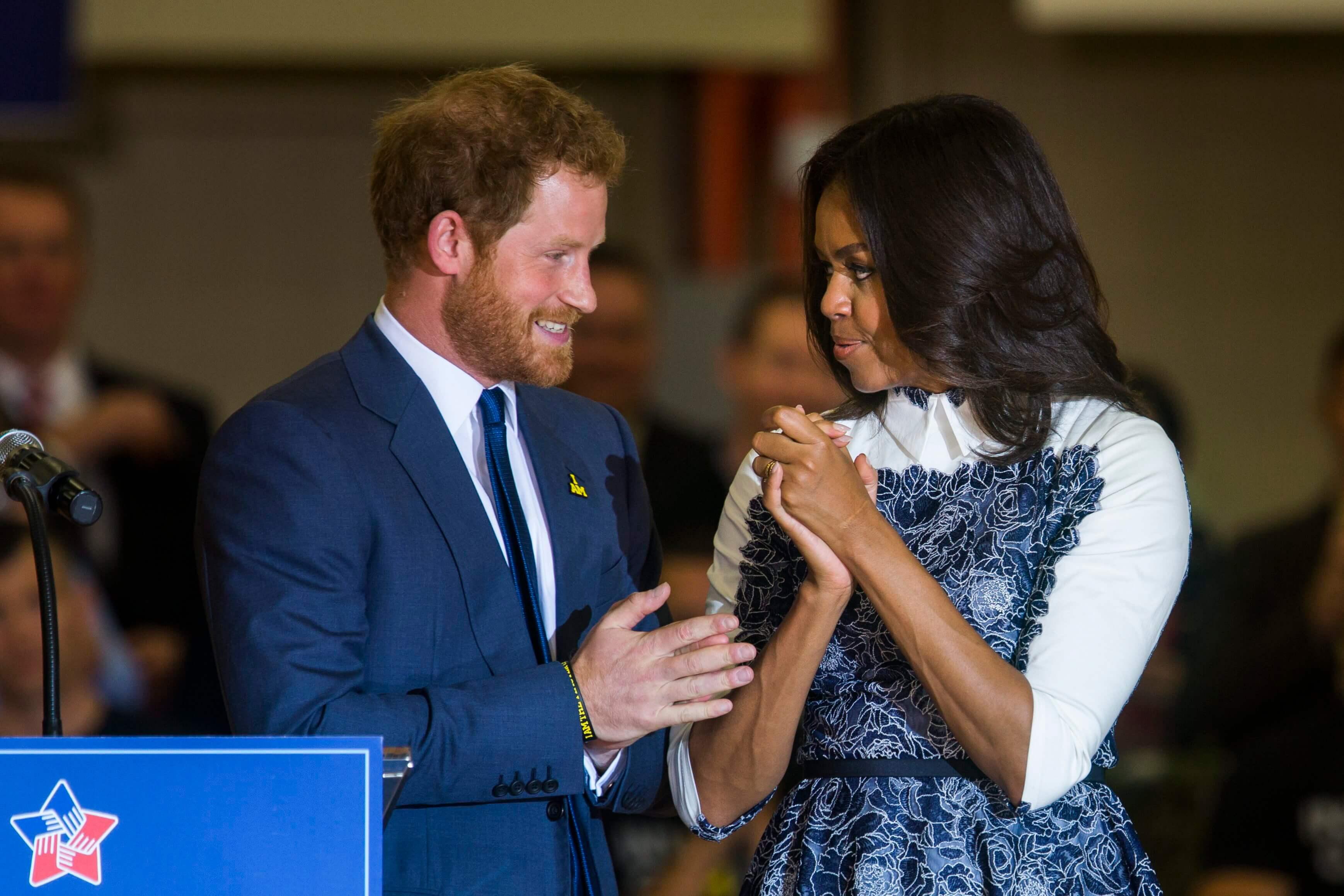 Britische Royals: Michelle Obama hofft auf Versöhnung