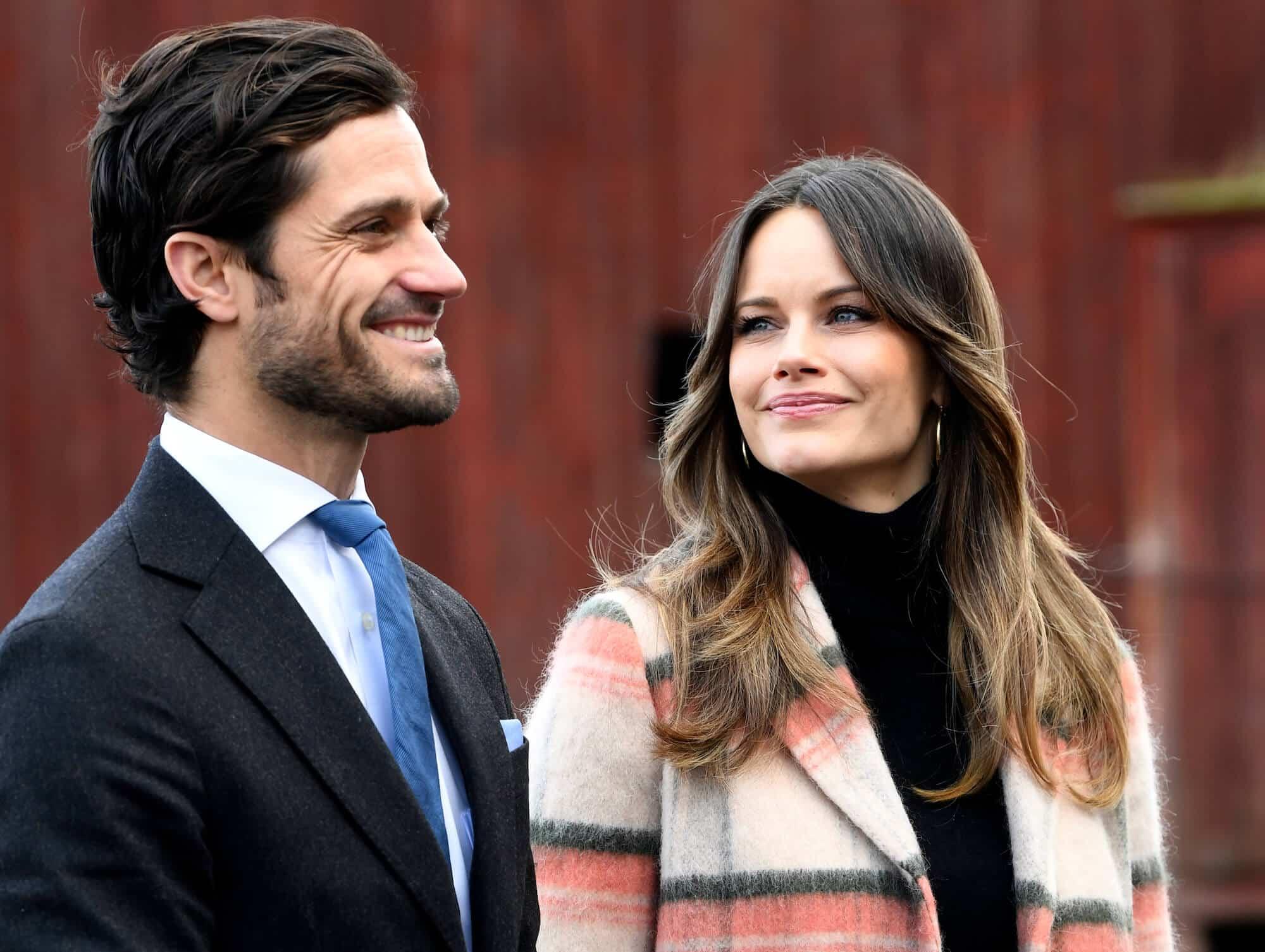 Prinz Carl Philip und Prinzessin Sofia