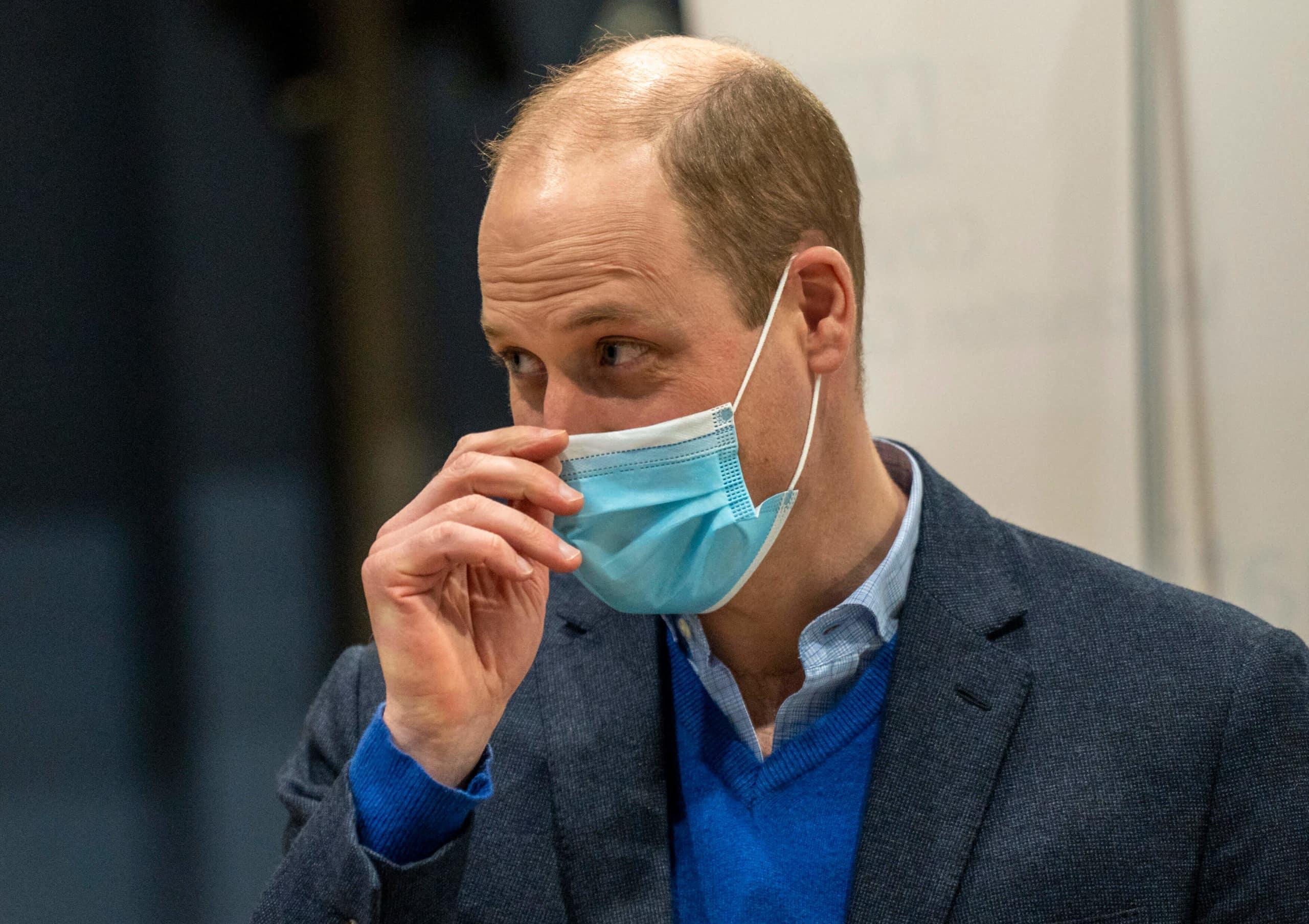 Royales mit Glatze: Prinz William