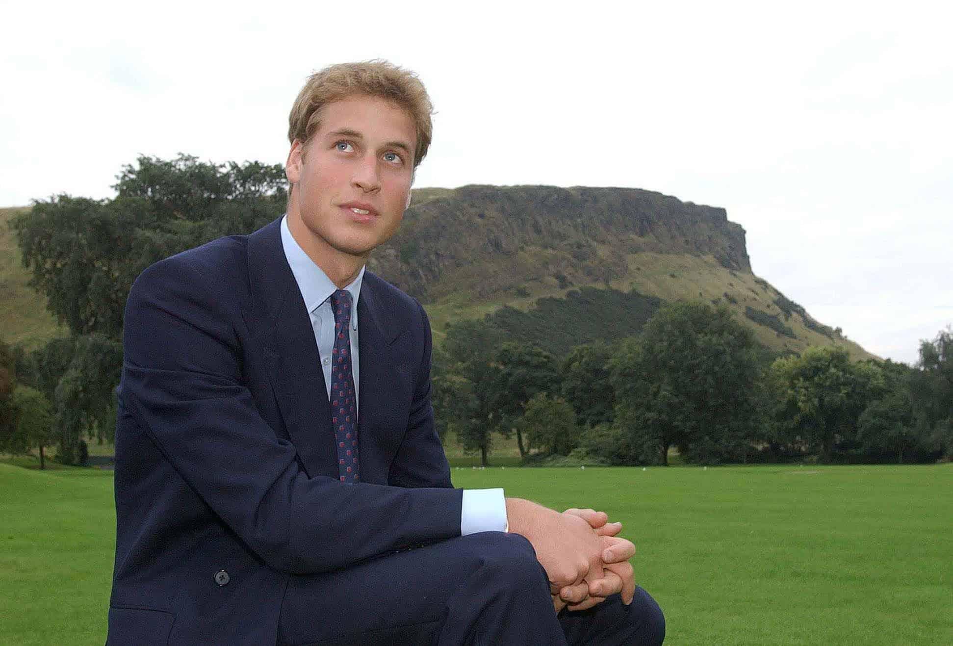 Prinz William mit vollen Haaren