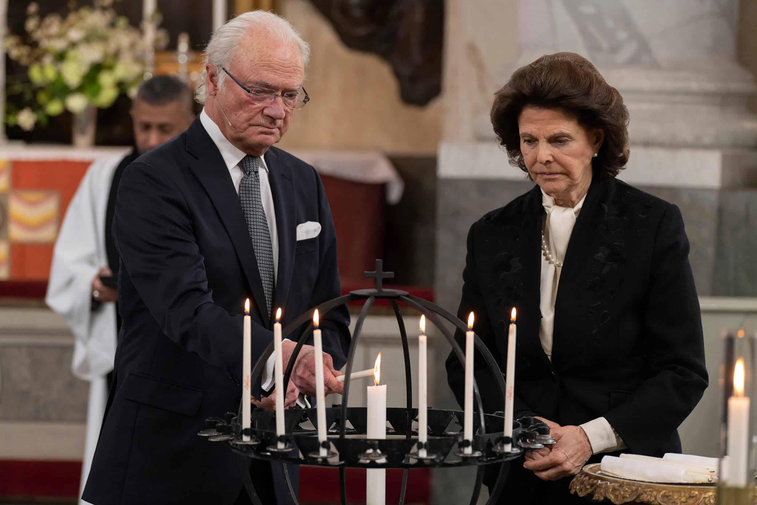 Schwedische Royals: Emotionaler Auftritt