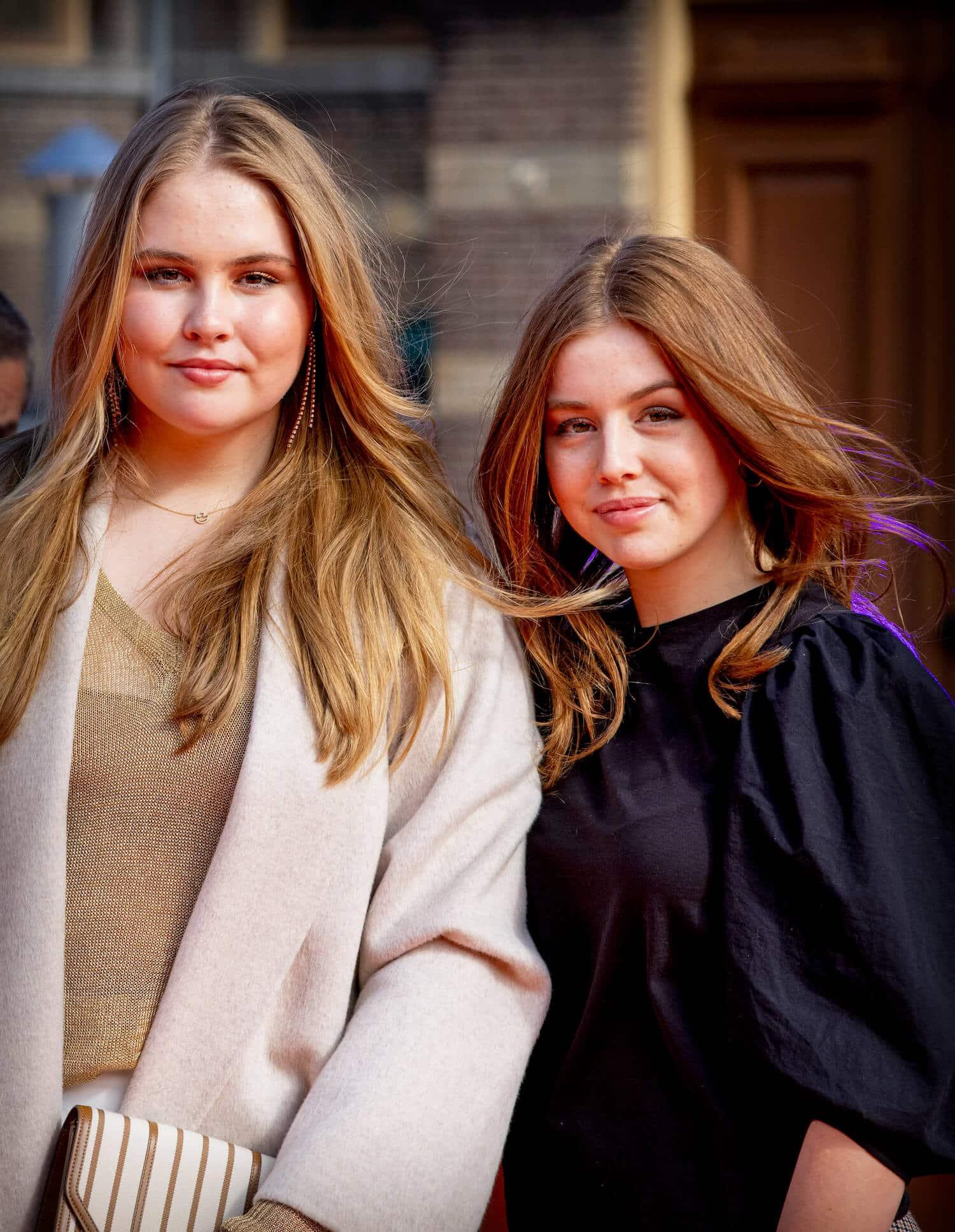 Prinzessin Amalia und Prinzessin Alexia