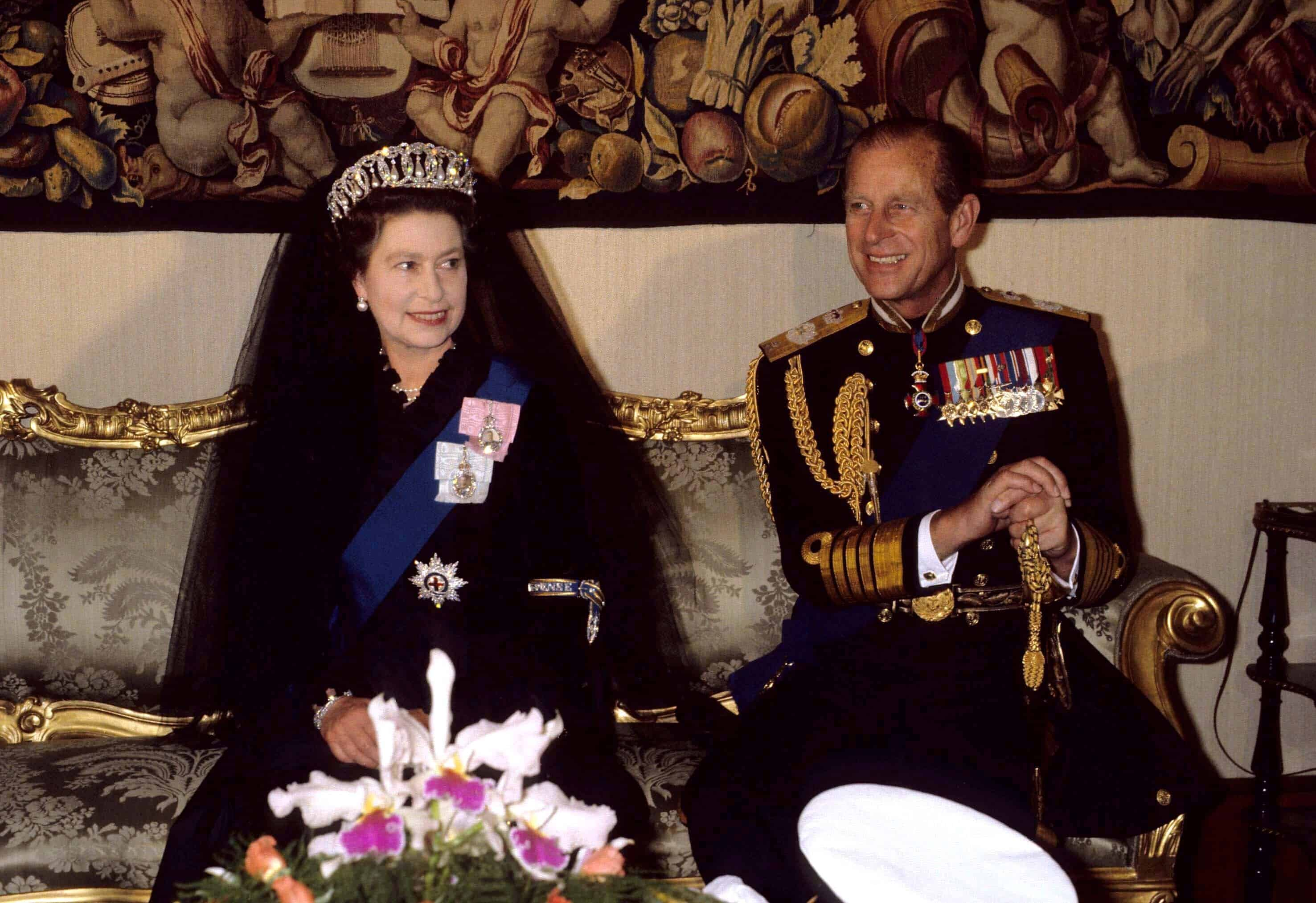Queen beim Papst