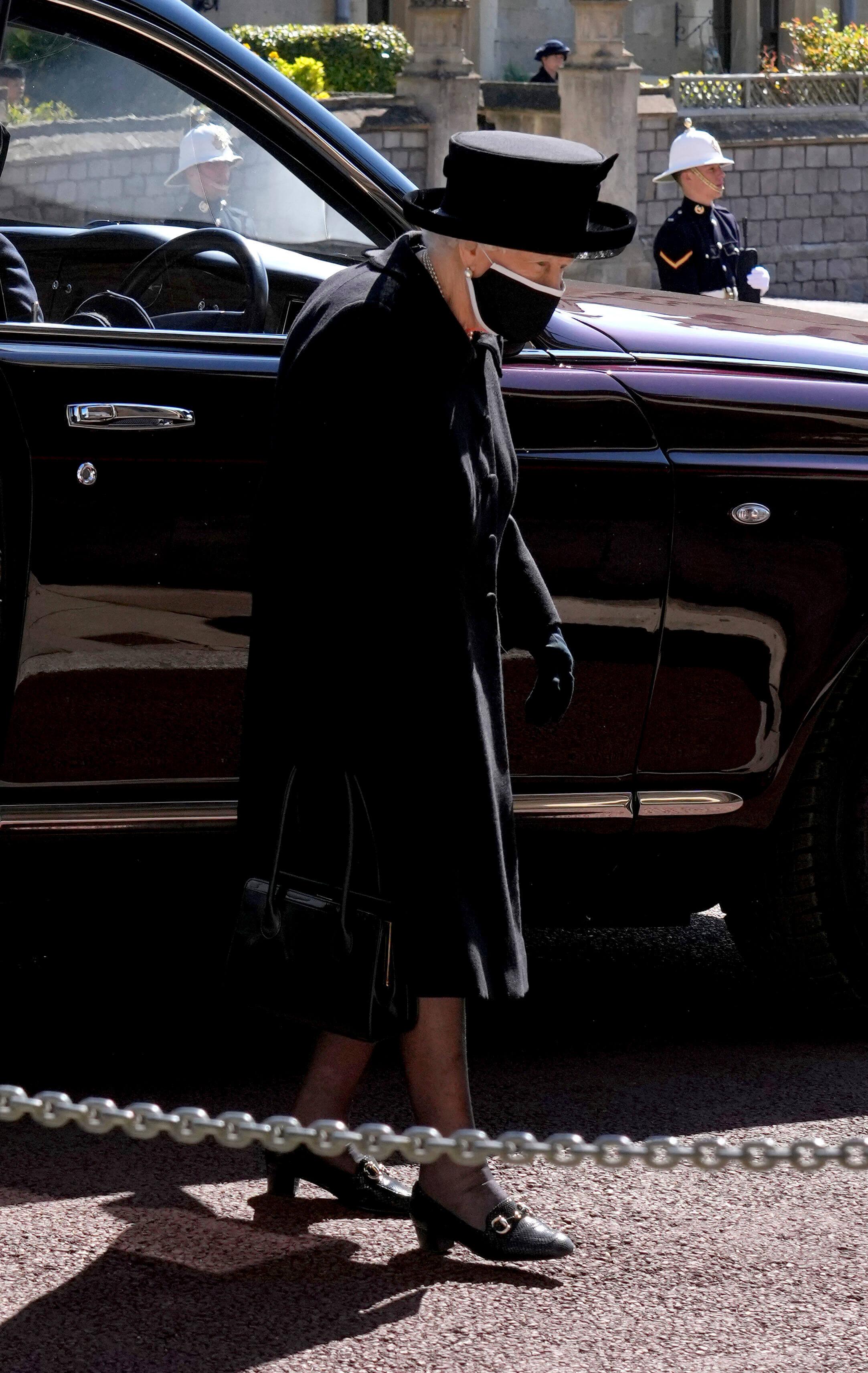 Queen Elizabeth Beerdigung, Prinz Philip Beerdigung, Queen Elizabeth trauert