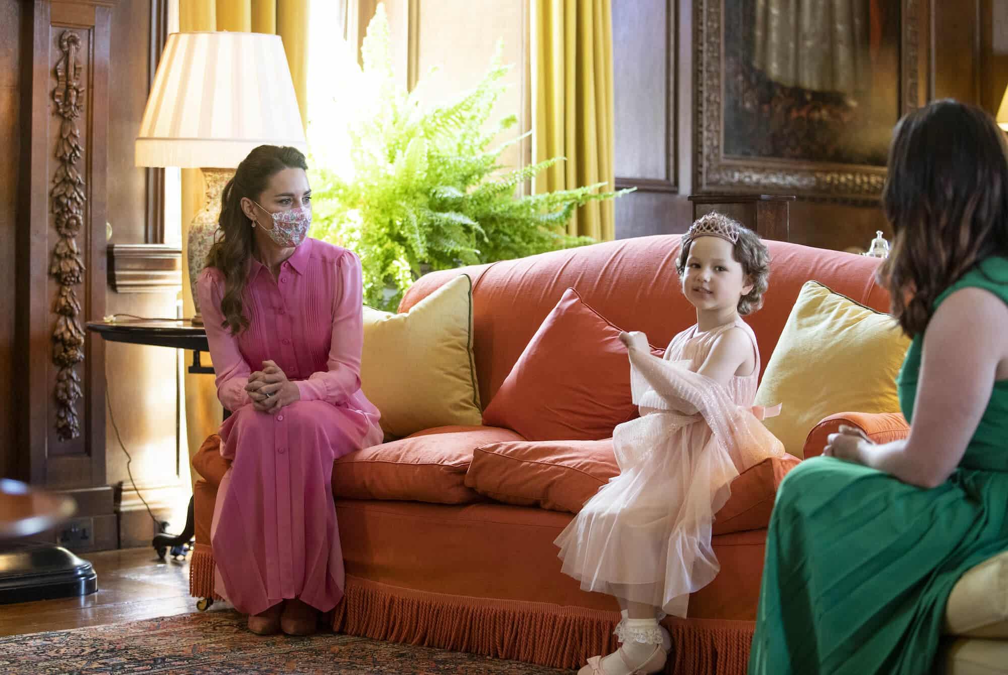 Herzogin Kate erfüllt krankem Mädchen rührendes Versprechen