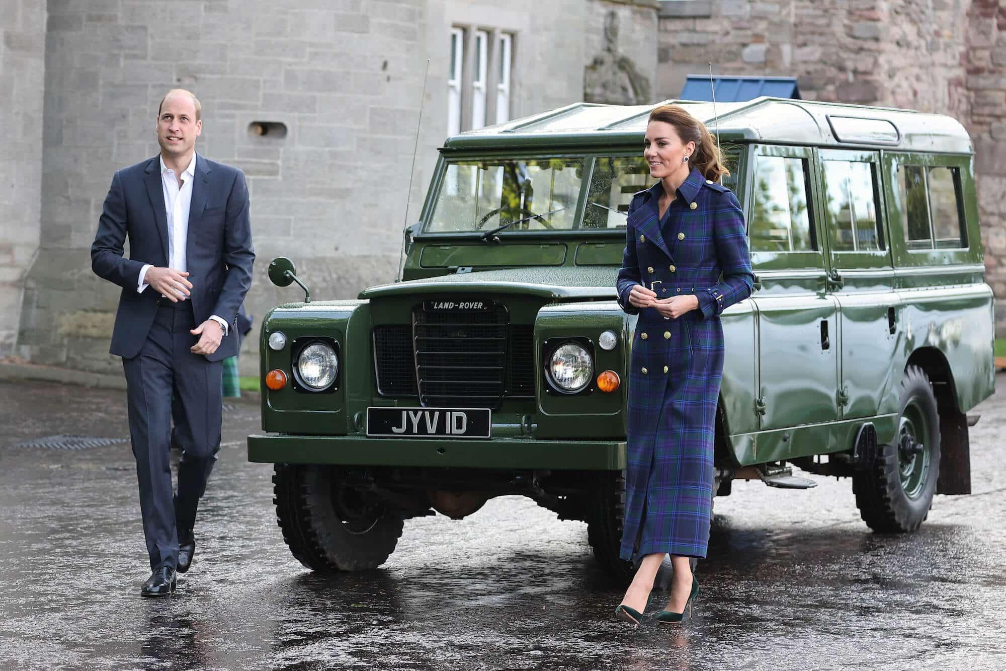Herzogin Kate und Prinz William: Date im Autokino