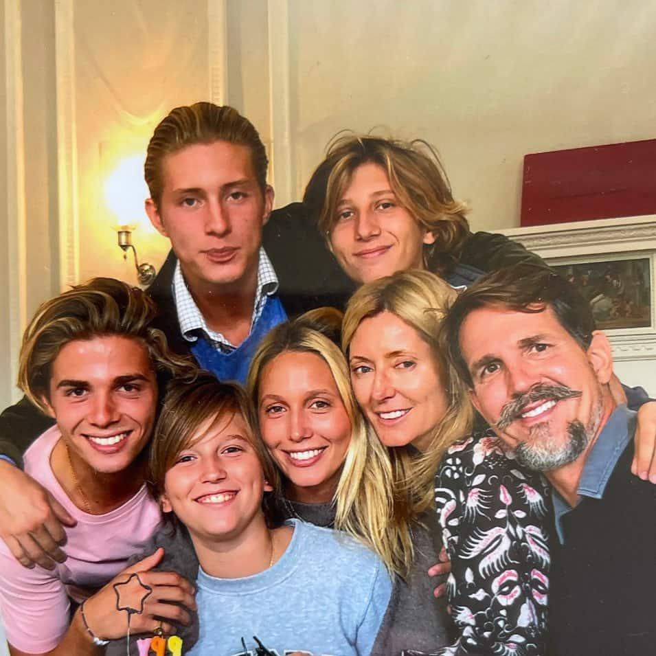 Marie-Chantal von Griechenland zeigt ihre schöne Familie