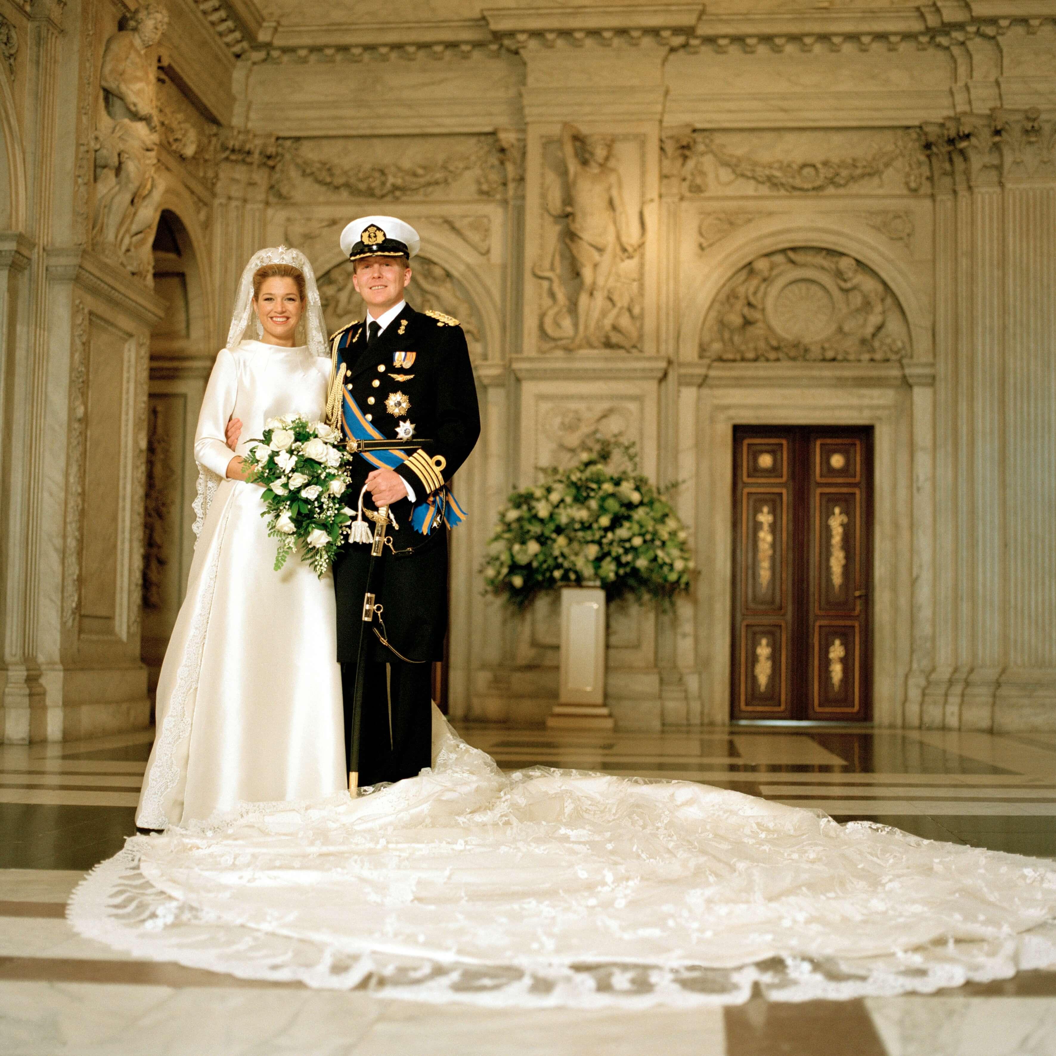 Königin Maxima, König Willem-Alexander, Hochzeit