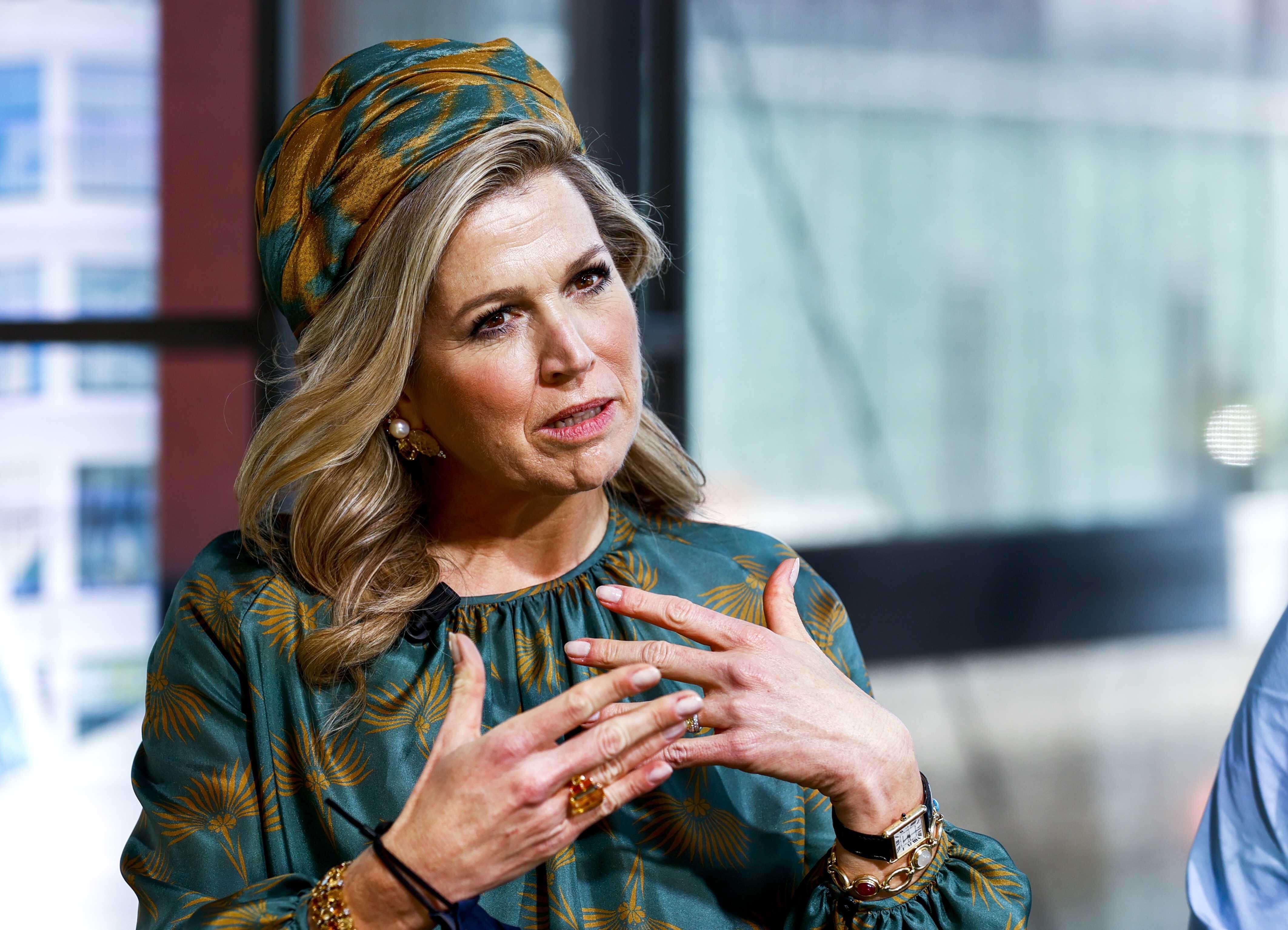 Königin Maxima spricht über Skandal