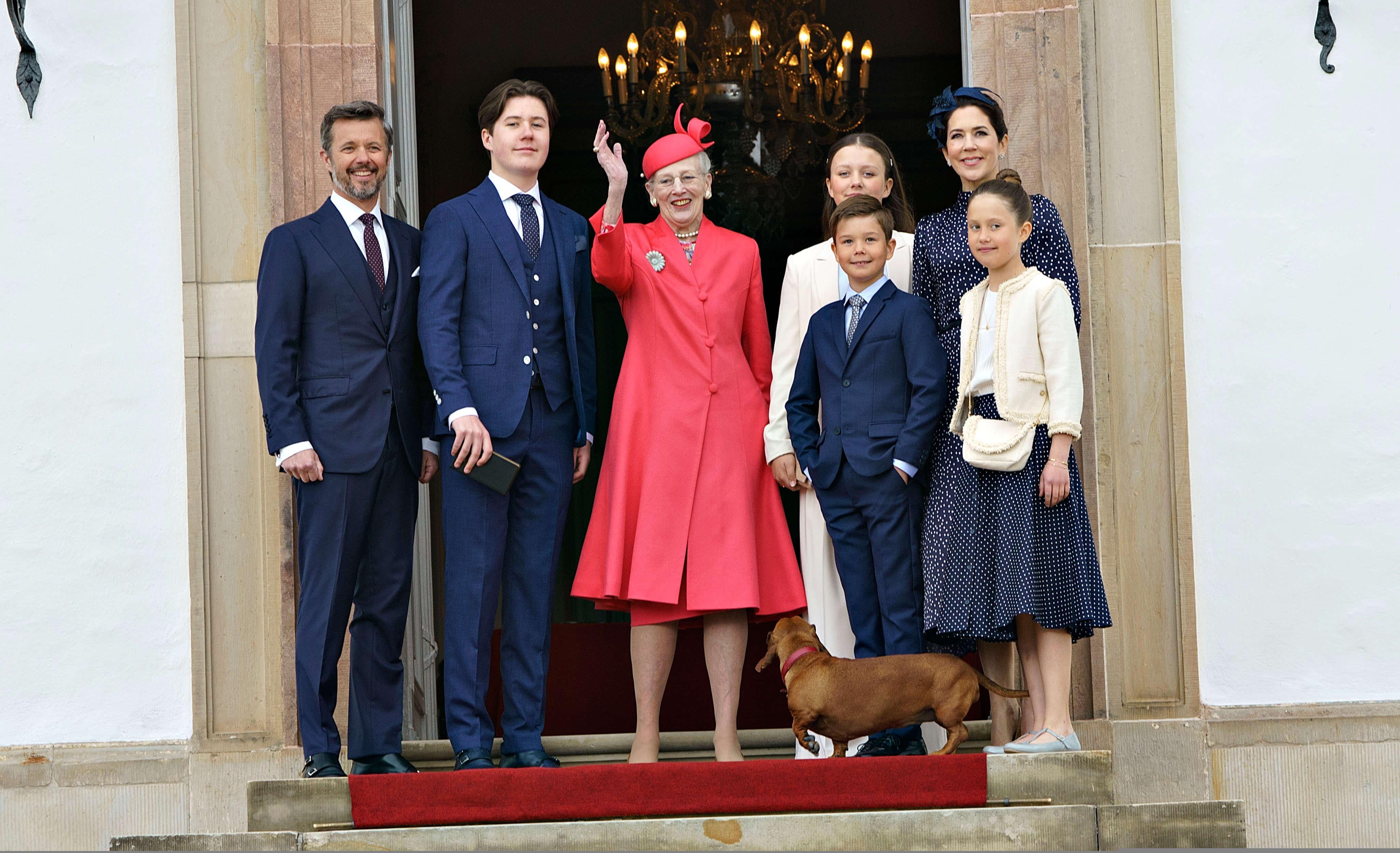 Prinz Christian feiert Konfirmation