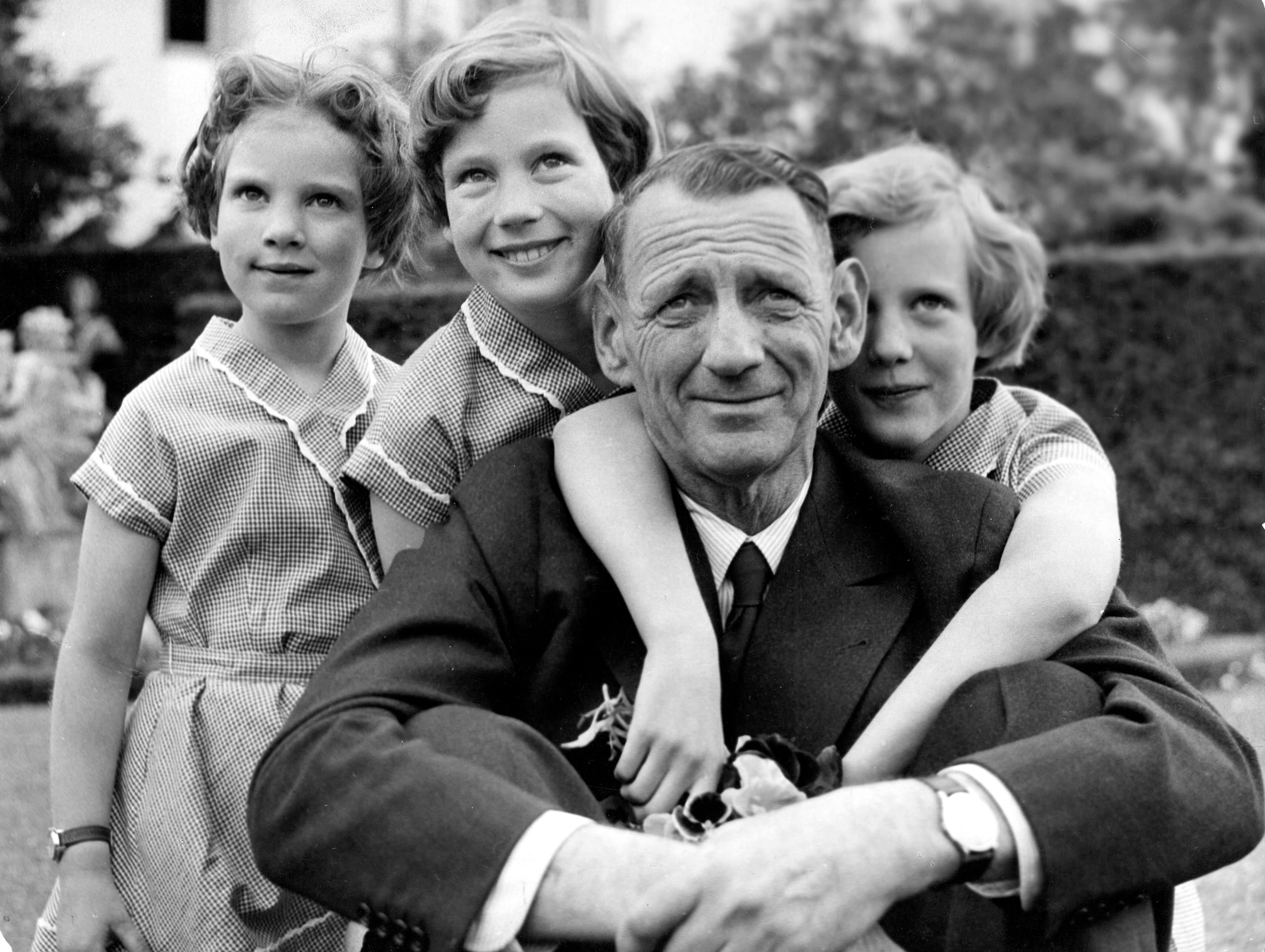 König Frederik und seine Töchter