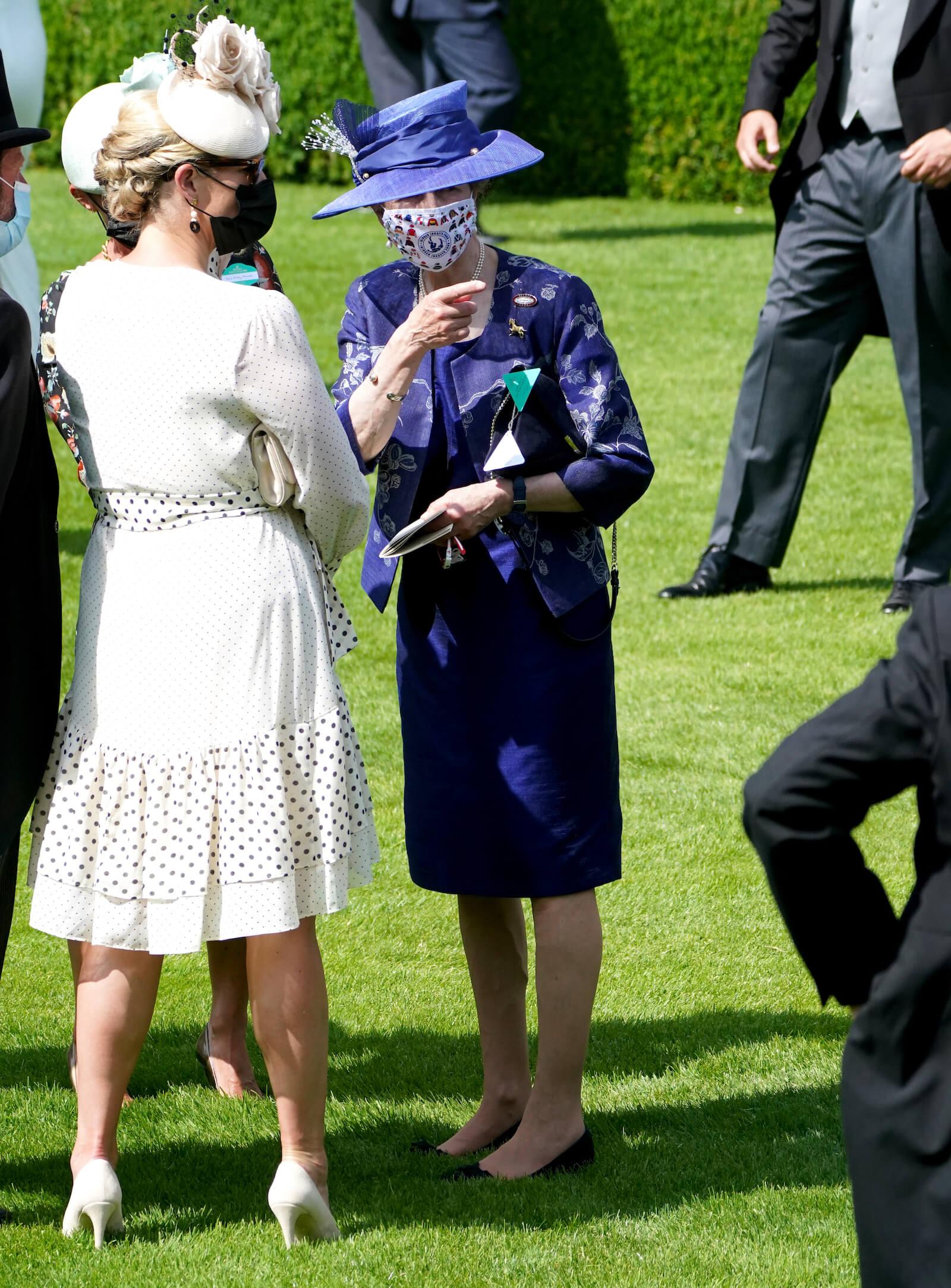 Prinzessin Anne in Ascot