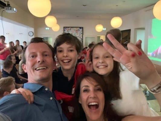 Prinz Joachim und Familie