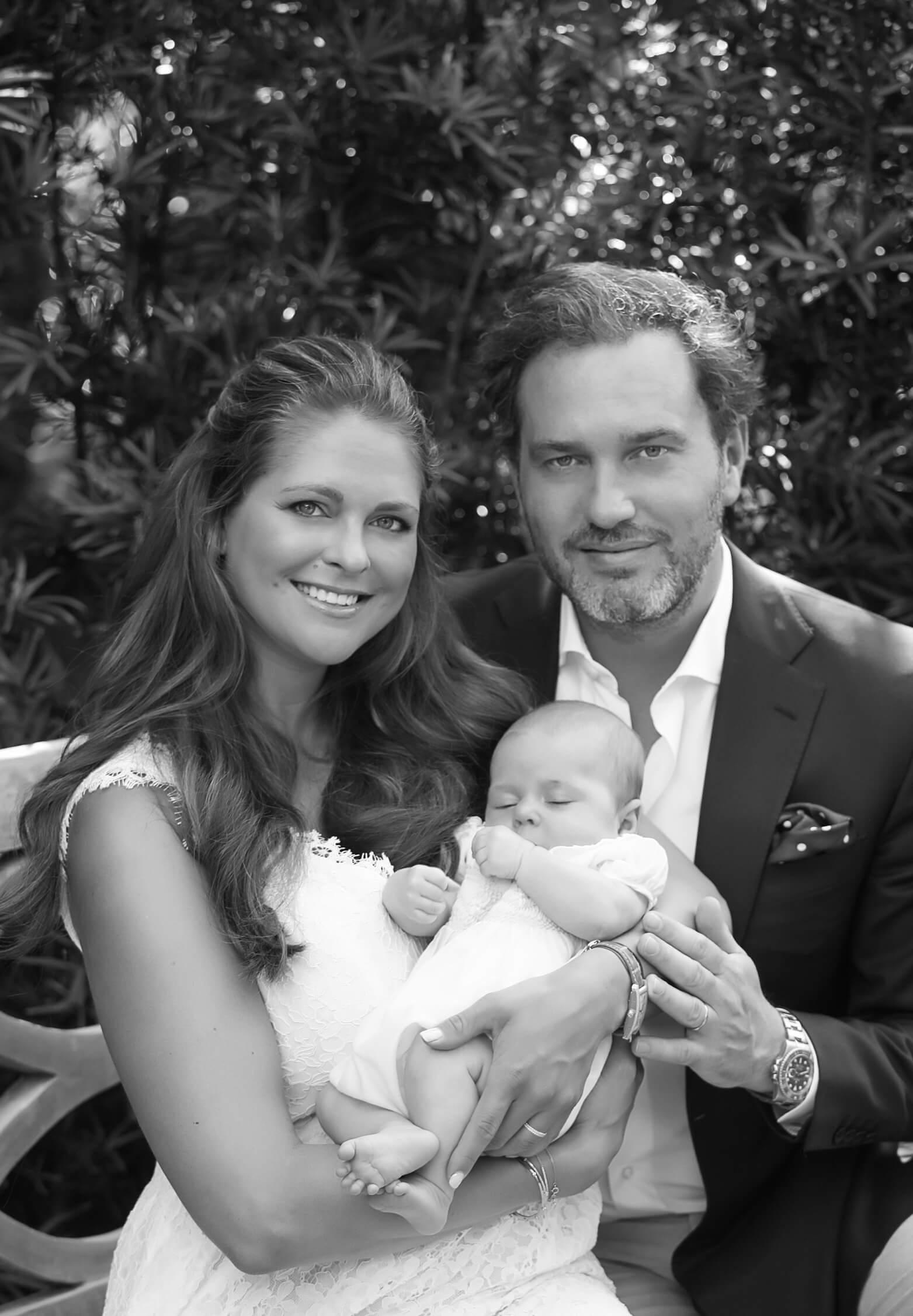 Leonore von Schweden als Baby