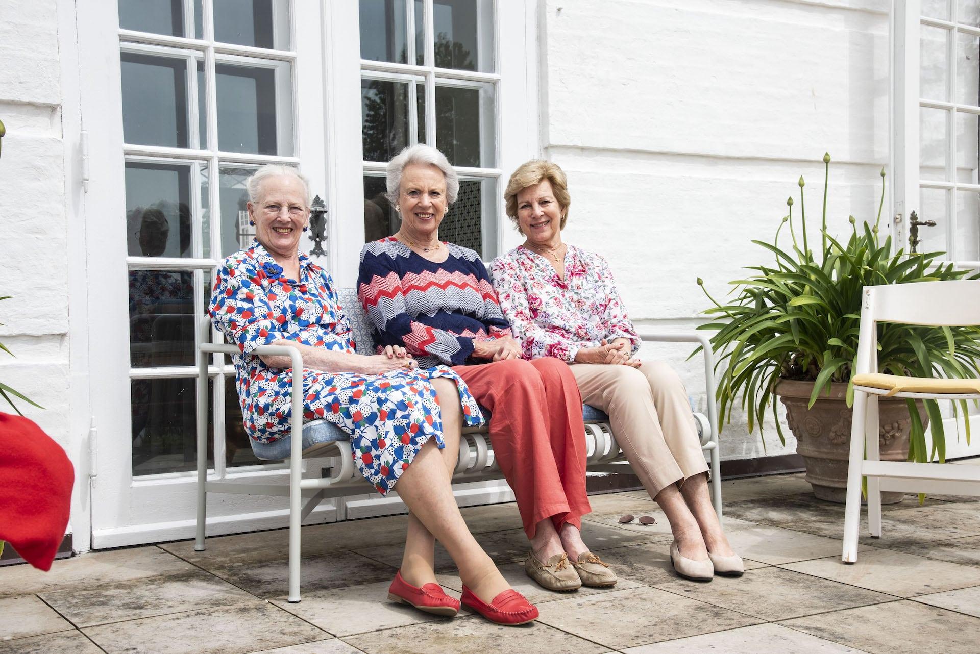 Königin Margrethe und ihre Schwestern verbringen die Ferien gemeinsam