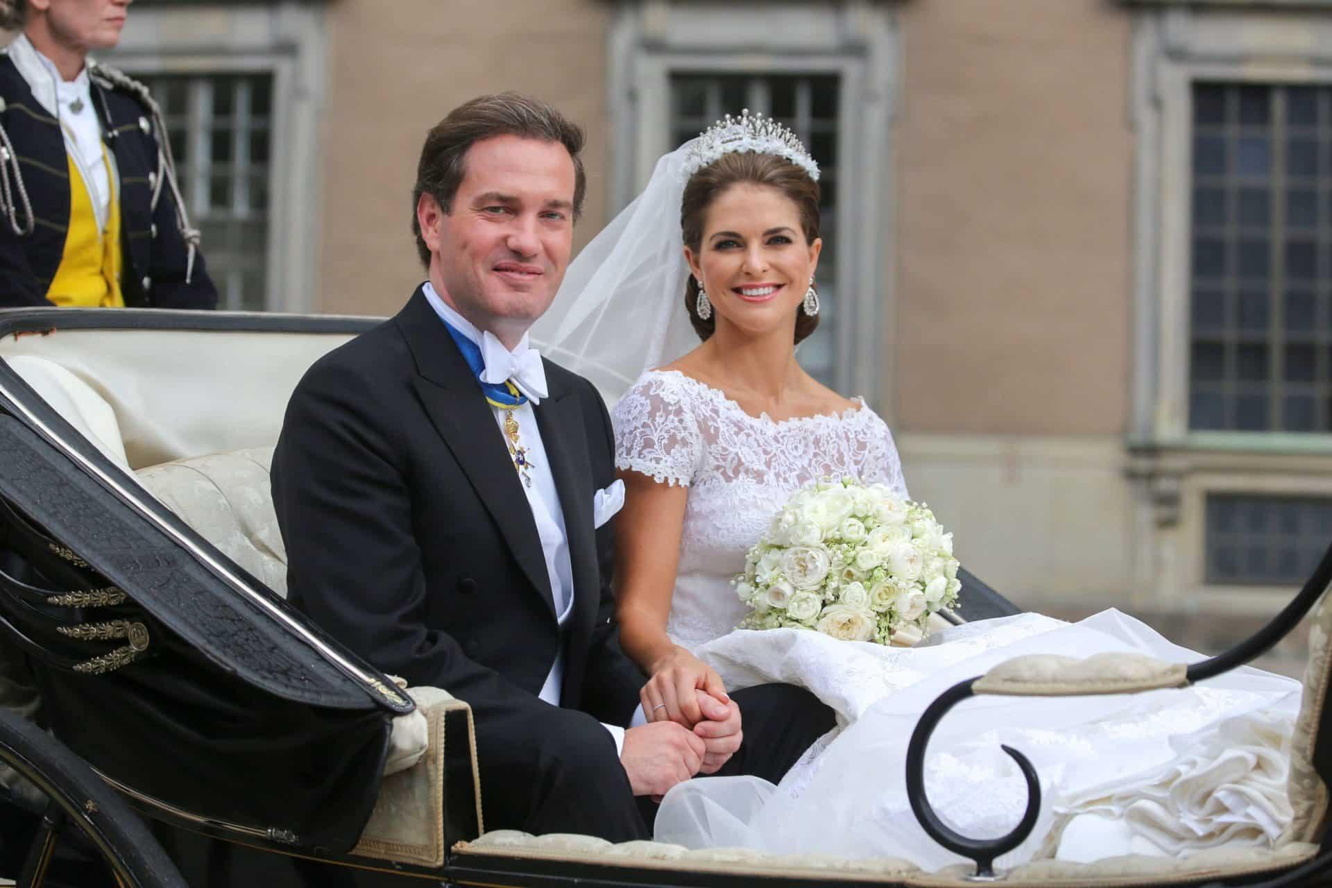 Prinzessin Madeleine und Christopher O'Neill: Ihre Liebesgeschichte