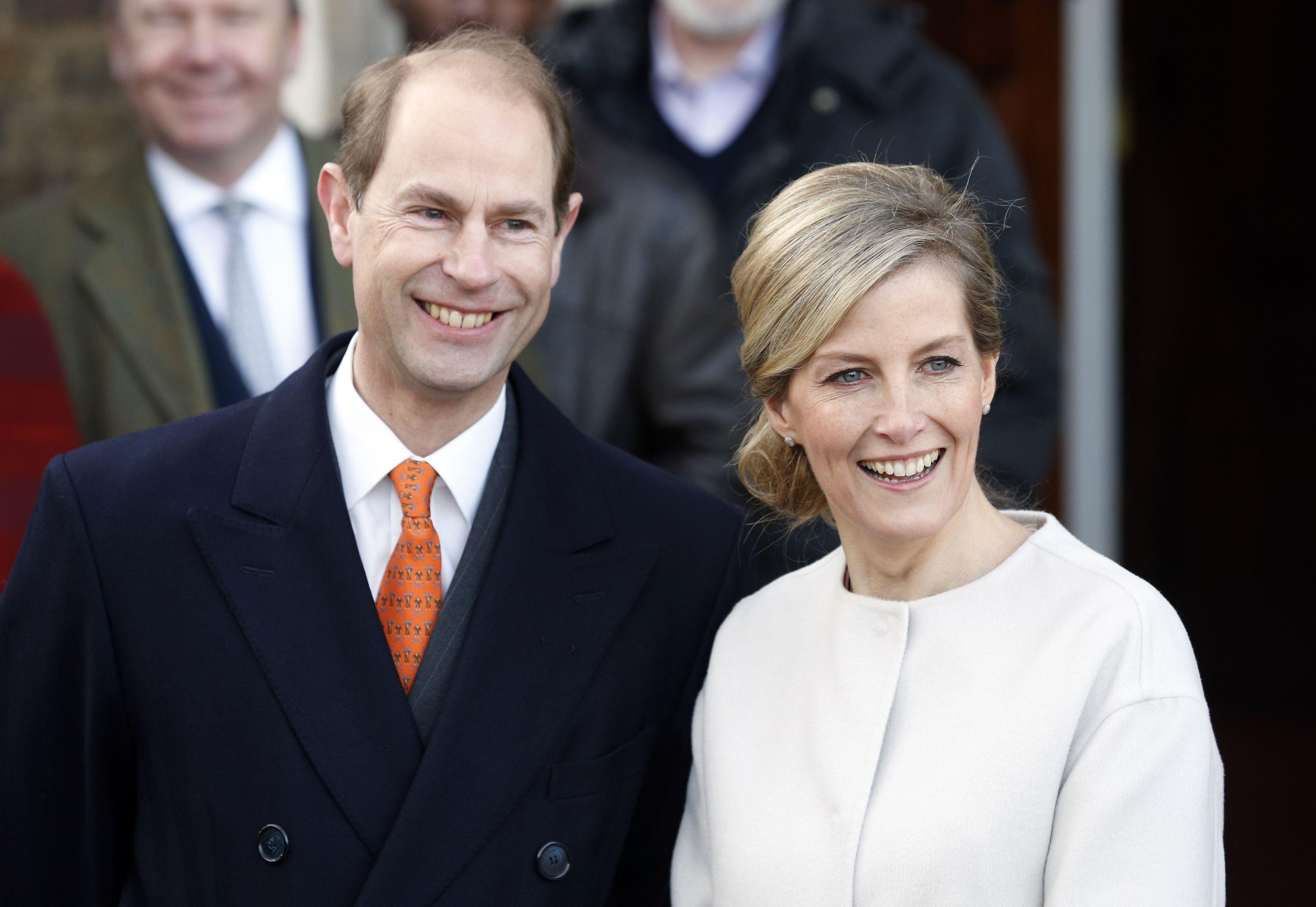 Sophie Wessex und Prinz Edward