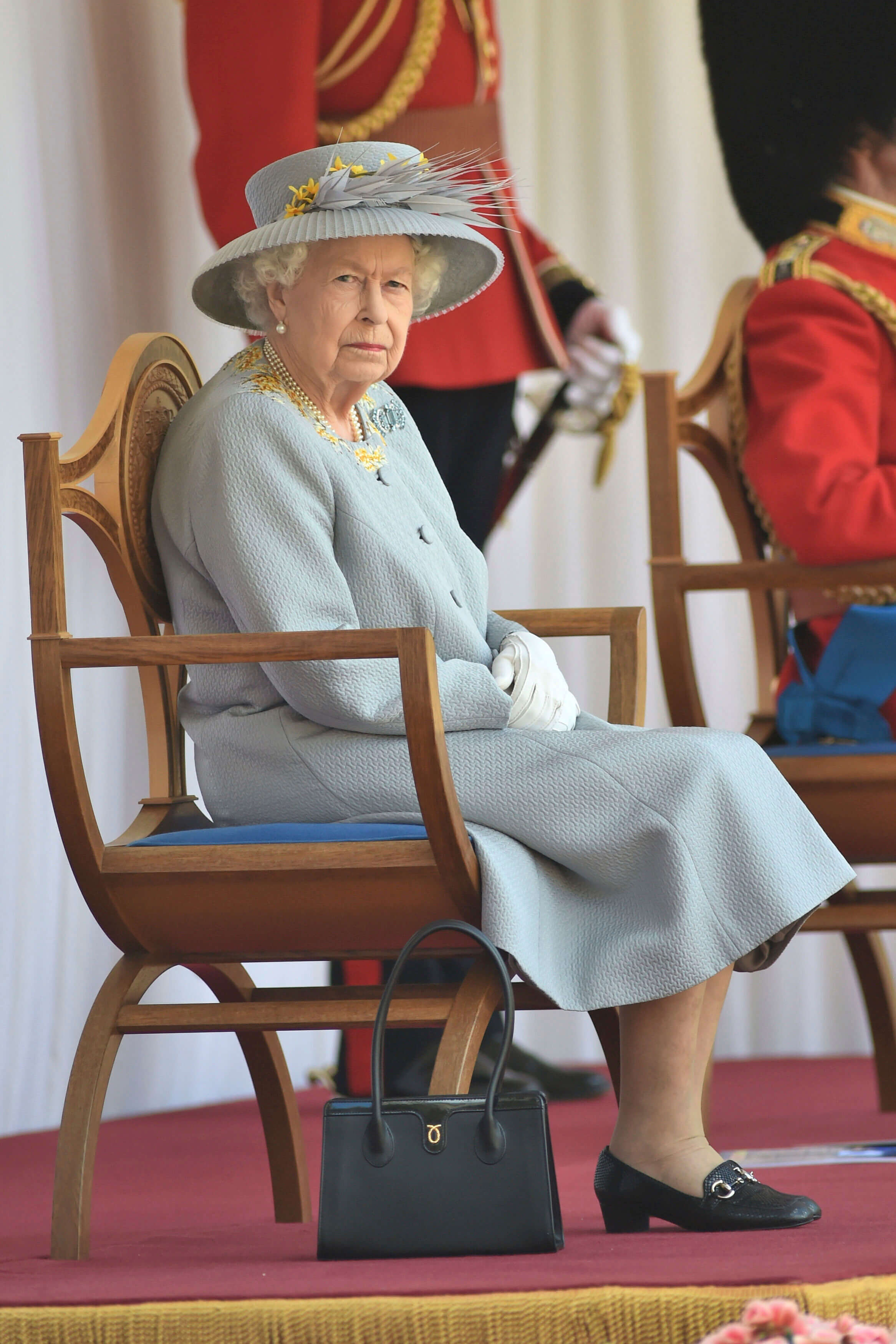 Queen Elizabeth Trooping the Color