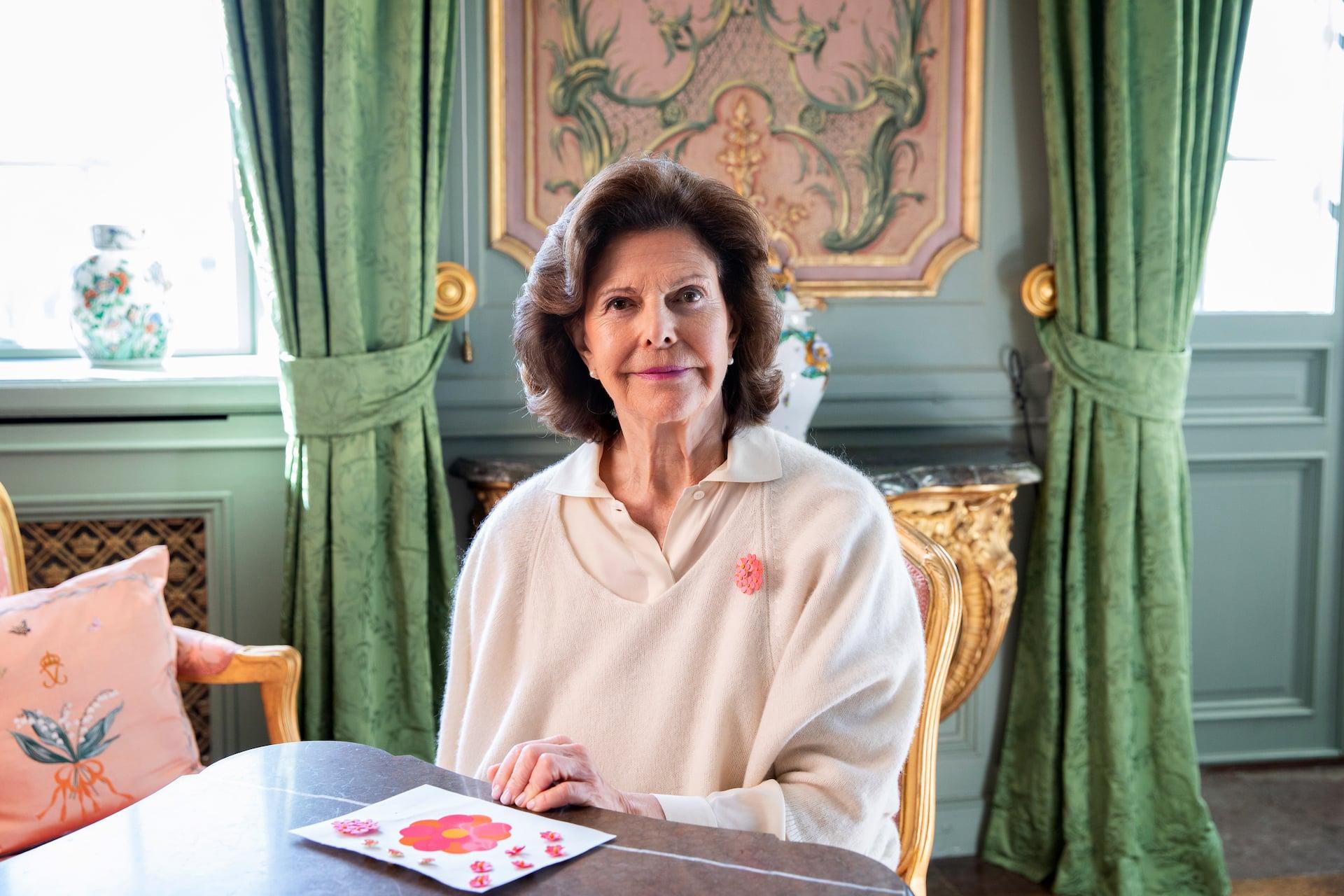 Königin Silvia Handgelenk