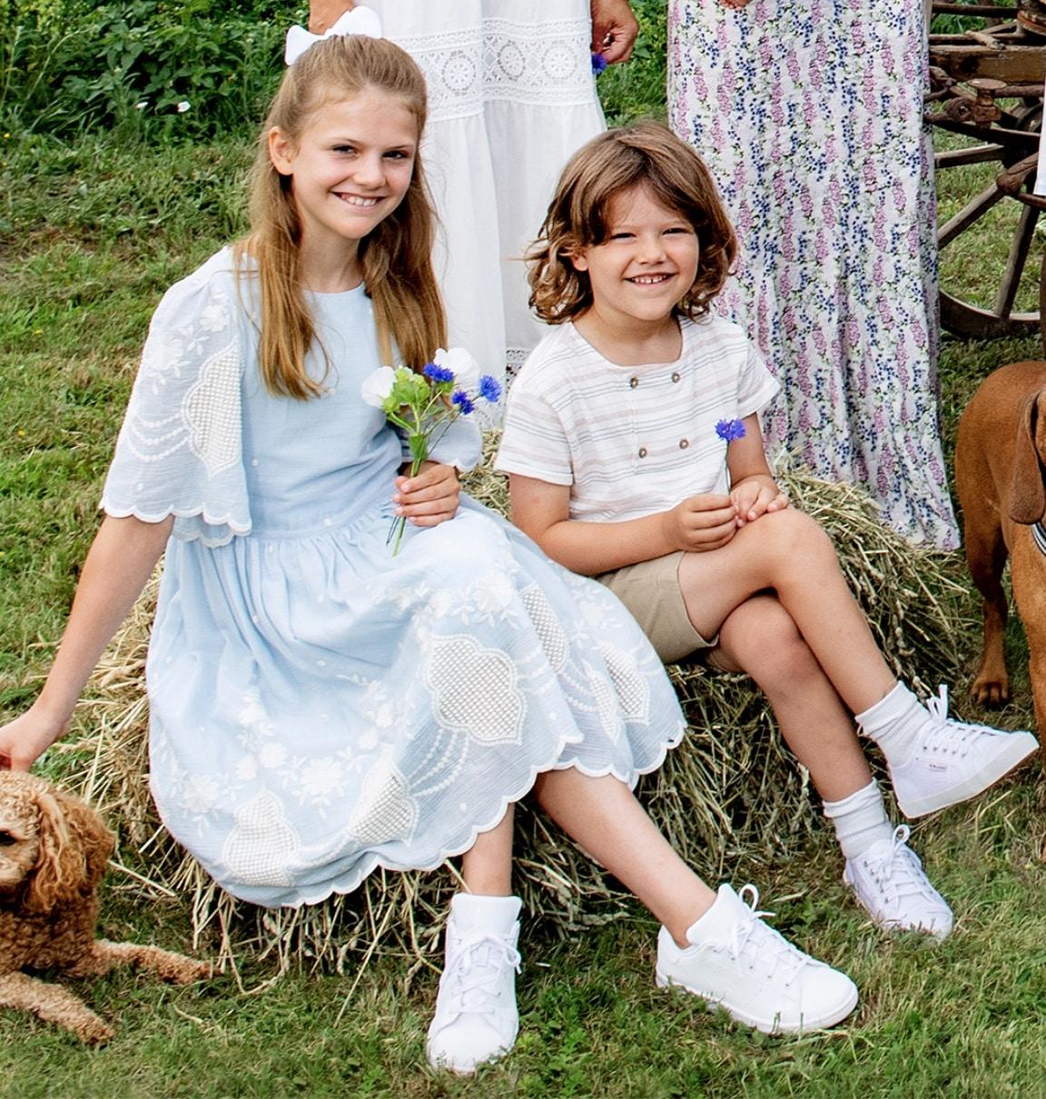 Prinzessin Estelle und Prinz Alexander