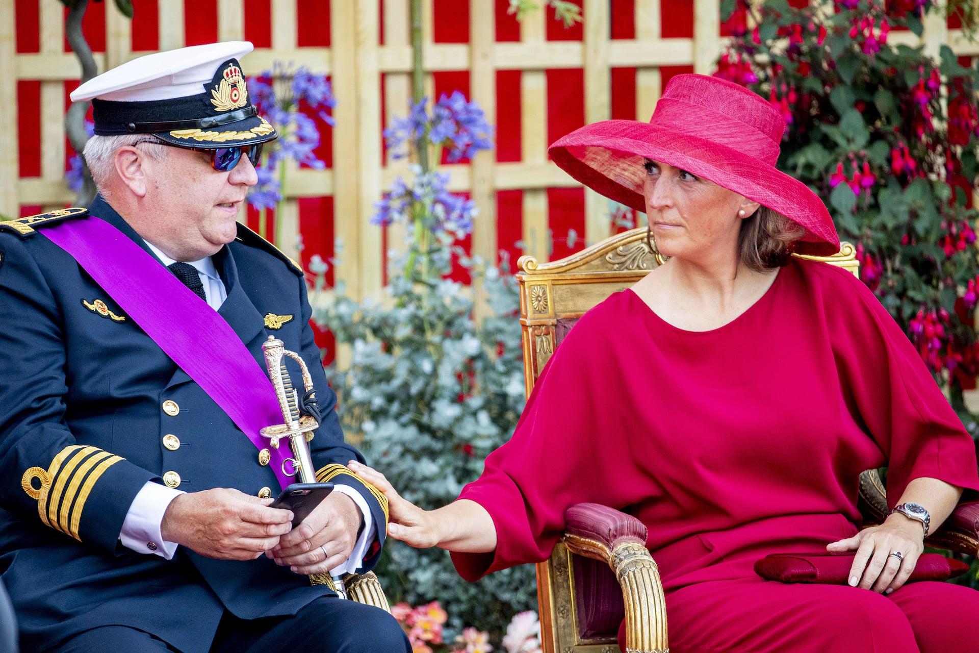 Prinz Laurent und Prinzessin Claire