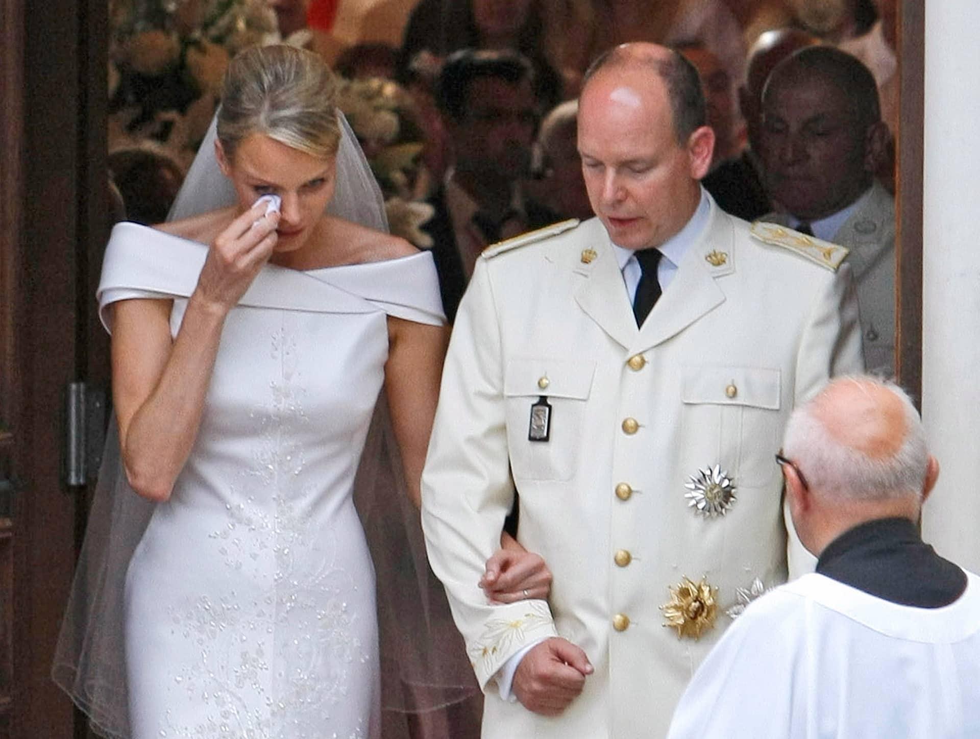 Charlene und Albert Hochzeit