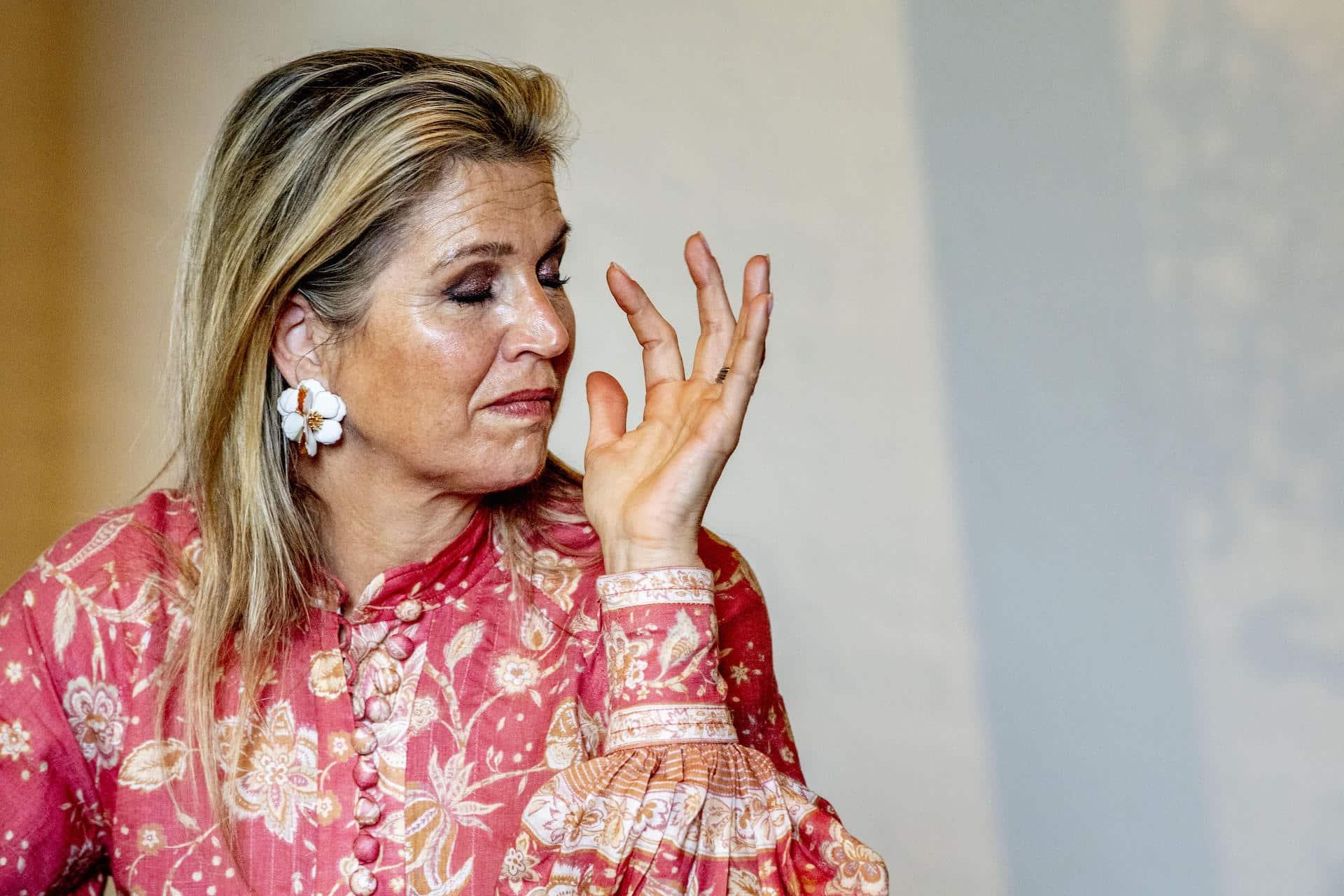 Königin Maxima: Hatte sie einen Wutanfall wegen eines Schleiers?