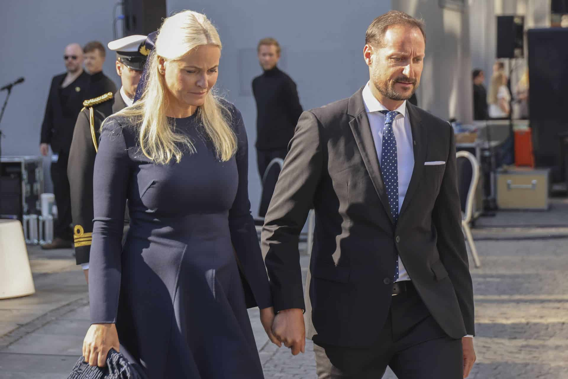 Mette-Marit und Haakon von Norwegen