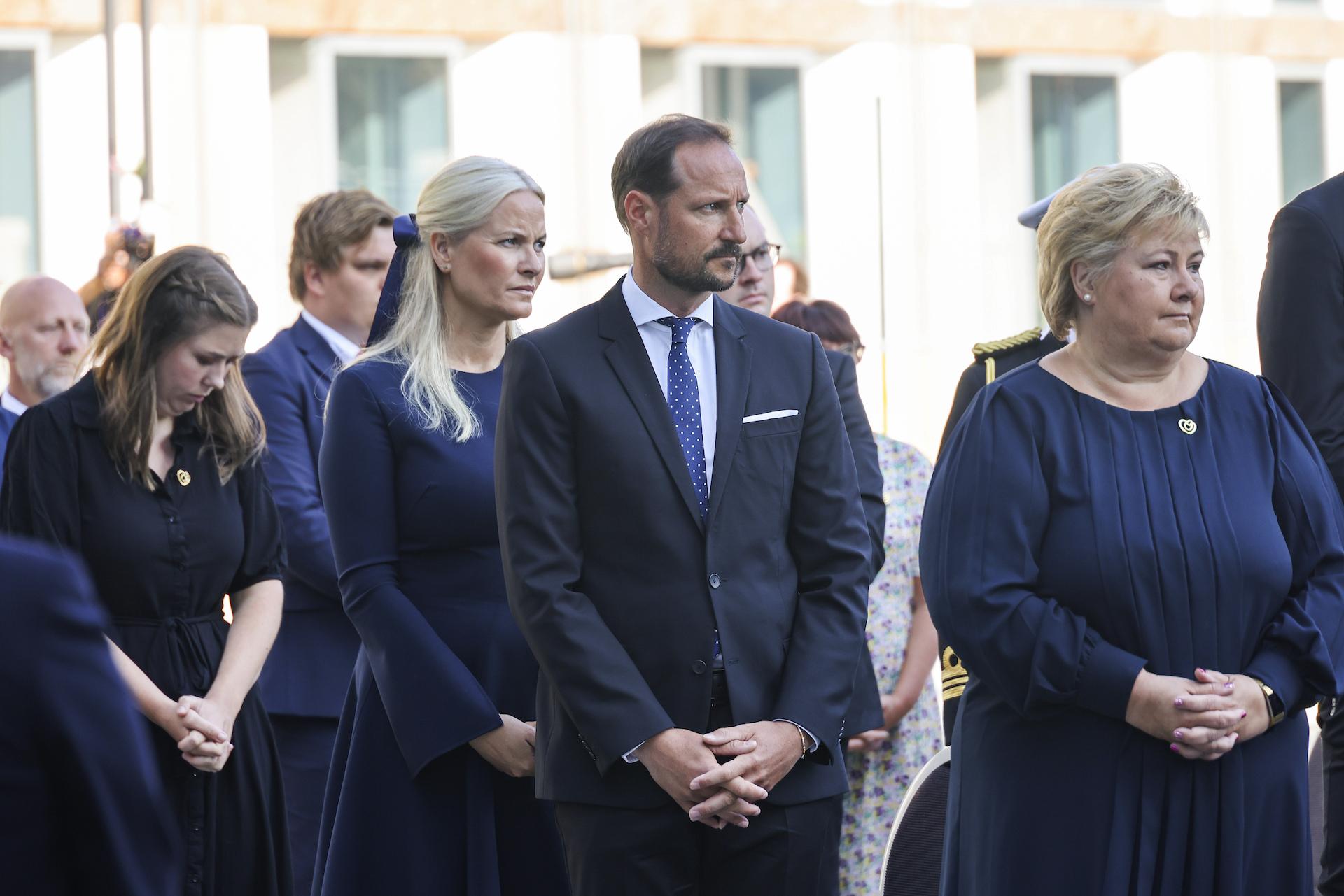 Die norwegischen Royals trauern