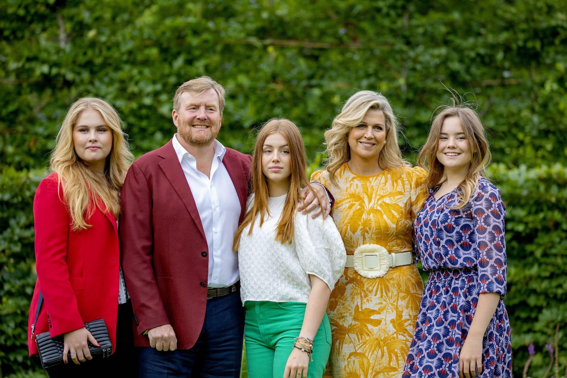 Niederländische Köngisfamilie