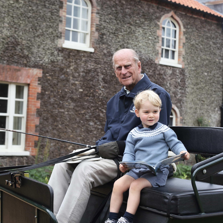 Prinz Philip und Prinz George