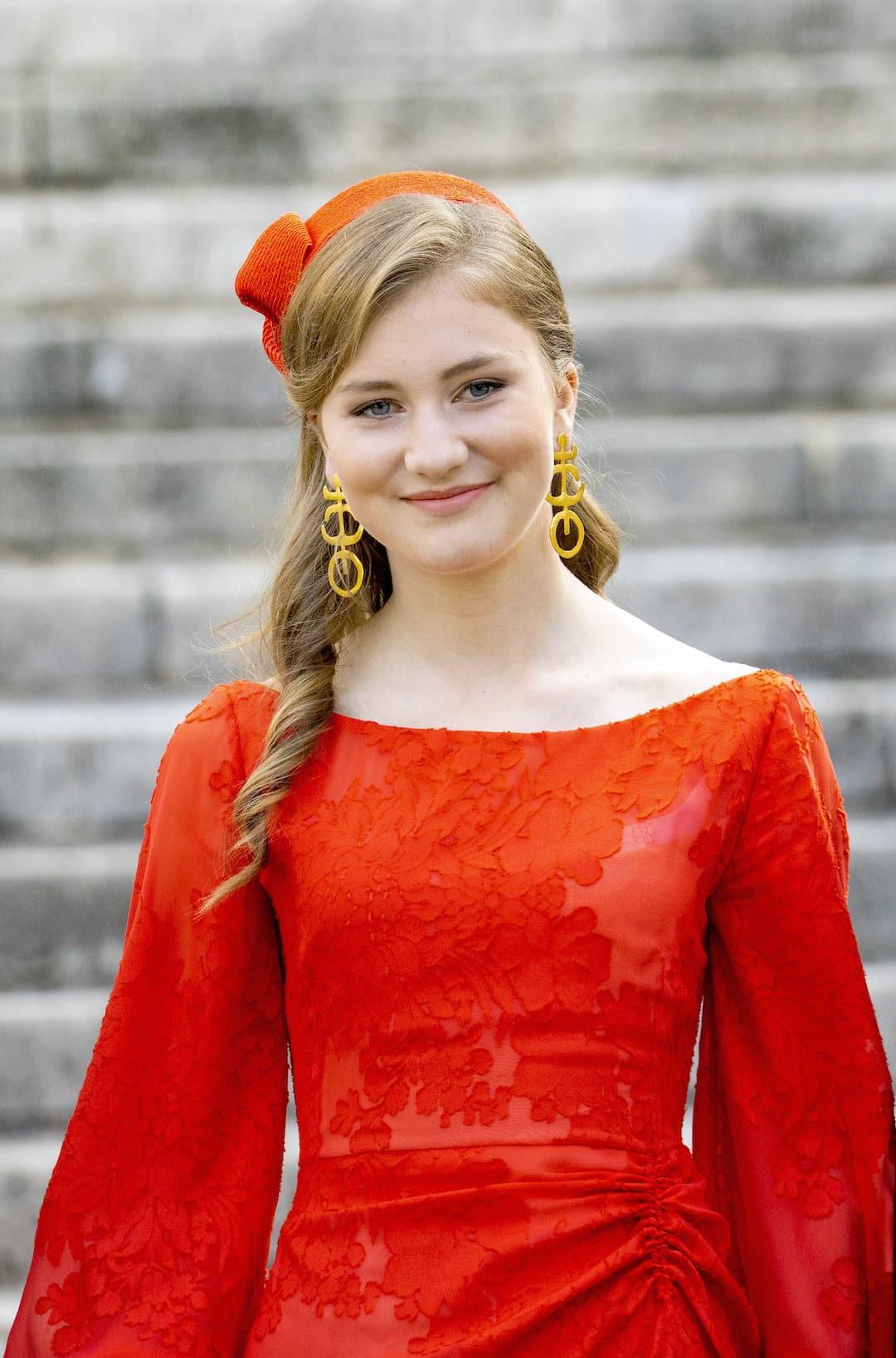 Elisabeth von Belgien am Nationalfeiertag 2021