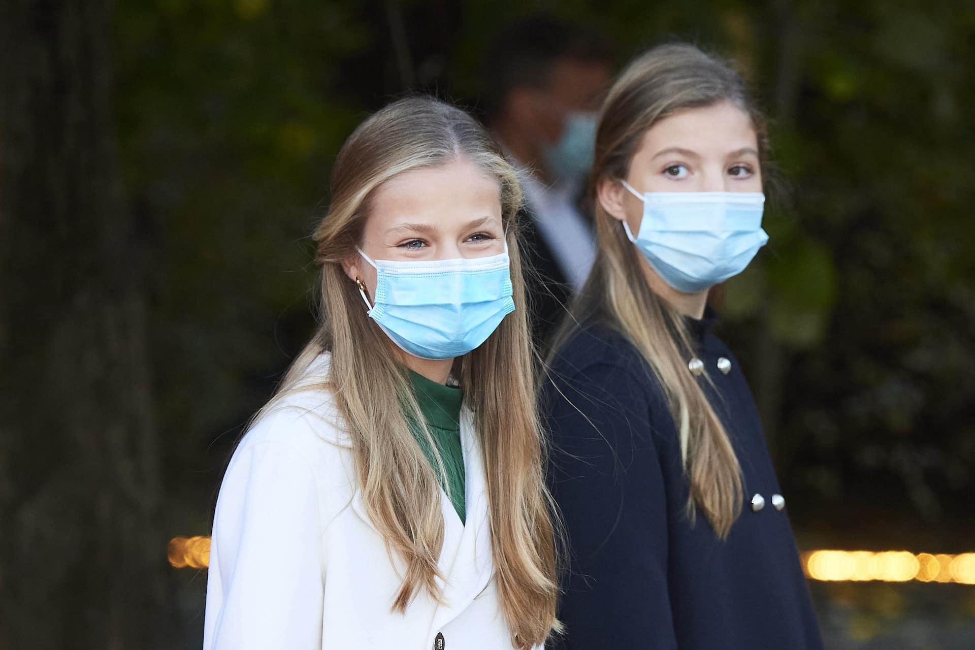 Prinzessin Leonor bekommt Impfung – ihre Schwester Sofia nicht