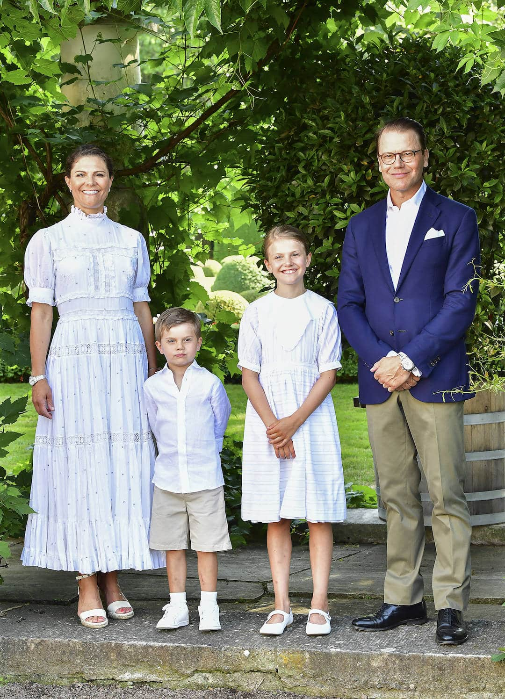 Schwedische Royals am Victoriatag