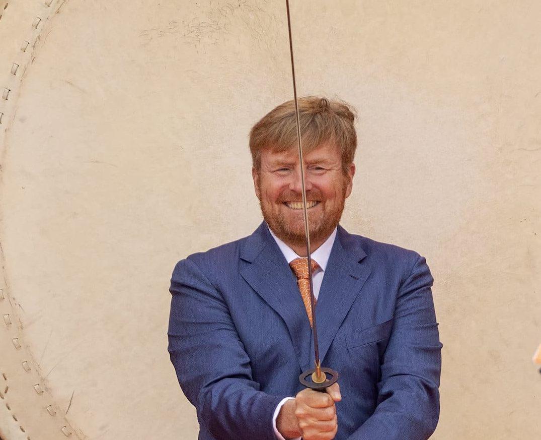 Säbel König Willem-Alexander