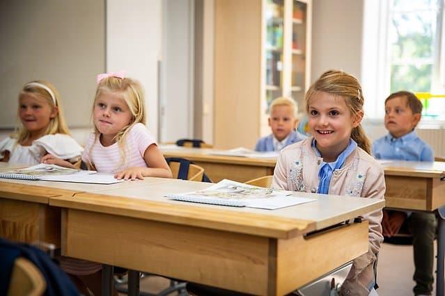 Im August 2018 kommt Prinzessin Estelle in die Schule