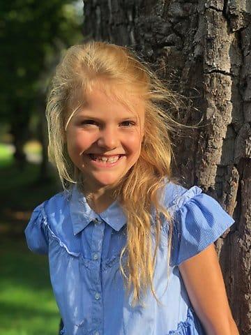 Prinzessin Estelle im Sommer 2019