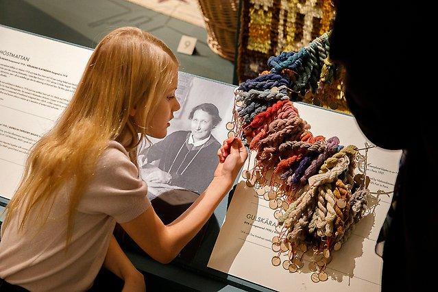 Prinzessin Estelle 2020 bei einer Ausstellung im Königspalast.