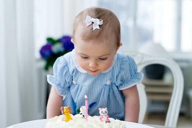 Erster Geburtstag von Prinzessin Estelle