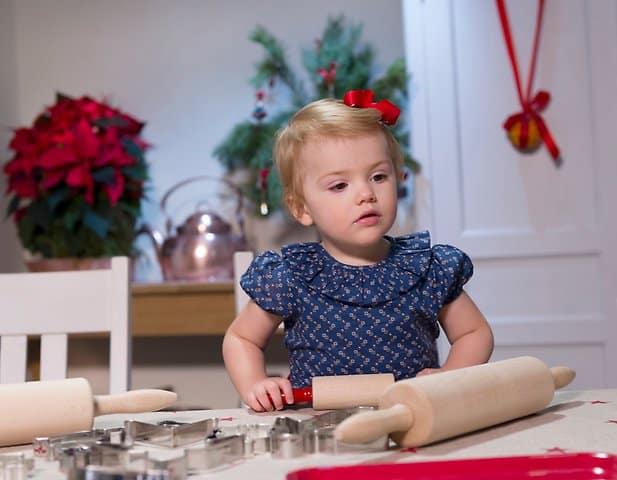 Prinzessin Estelle feiert Weihnachten