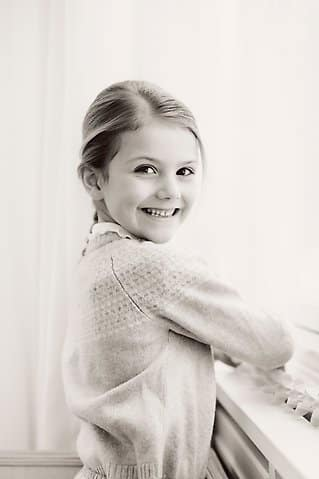 Prinzessin Estelle feiert ihren 6. Geburtstag