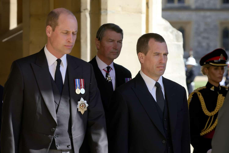 Peter Phillips: Das war beim Abschied von Prinz Philip am Schlimmste