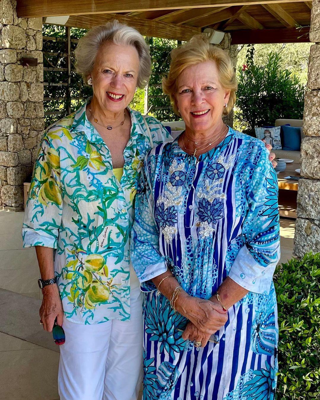 Benedikte und Anne-Marie