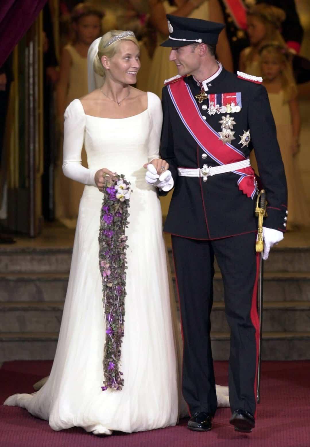 Hochzeit Haakon und Mette-Marit von Norwegen